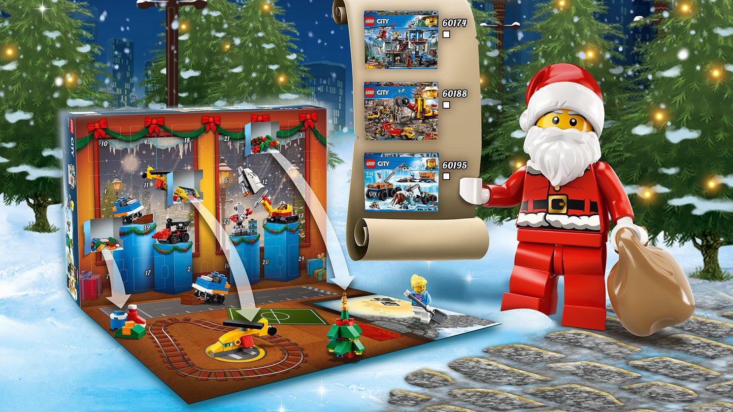 LEGO 60201 City Kalendarz adwentowy LEGO® City
