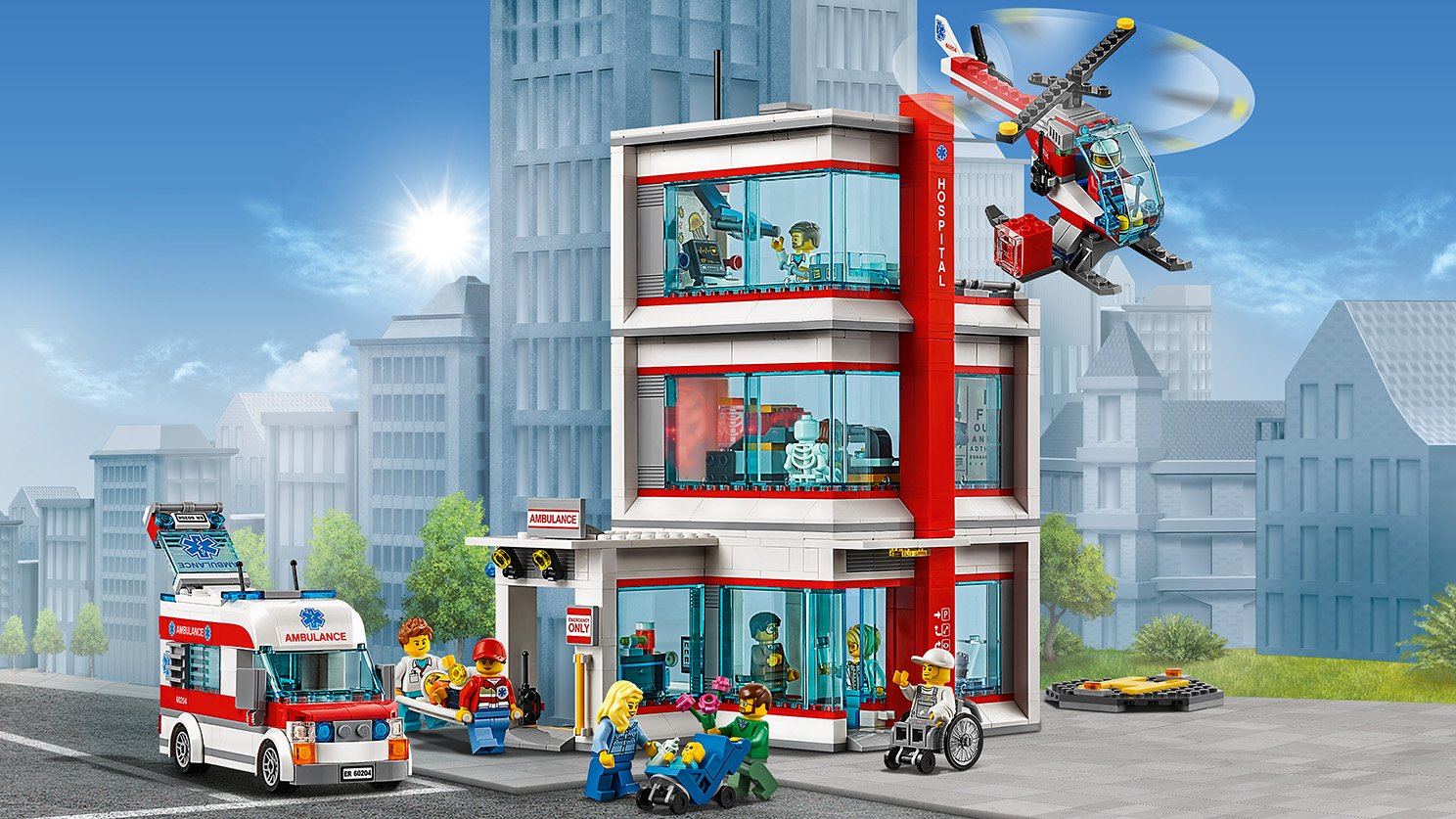 LEGO 60204 Szpital