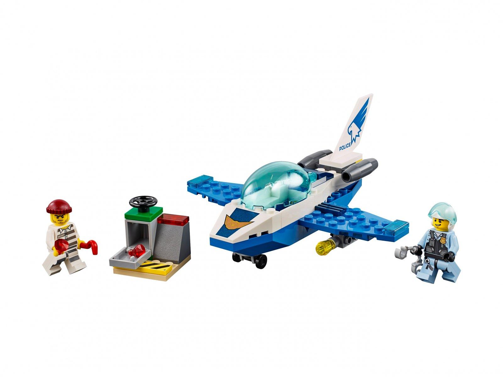 LEGO City 60206 Policyjny patrol powietrzny