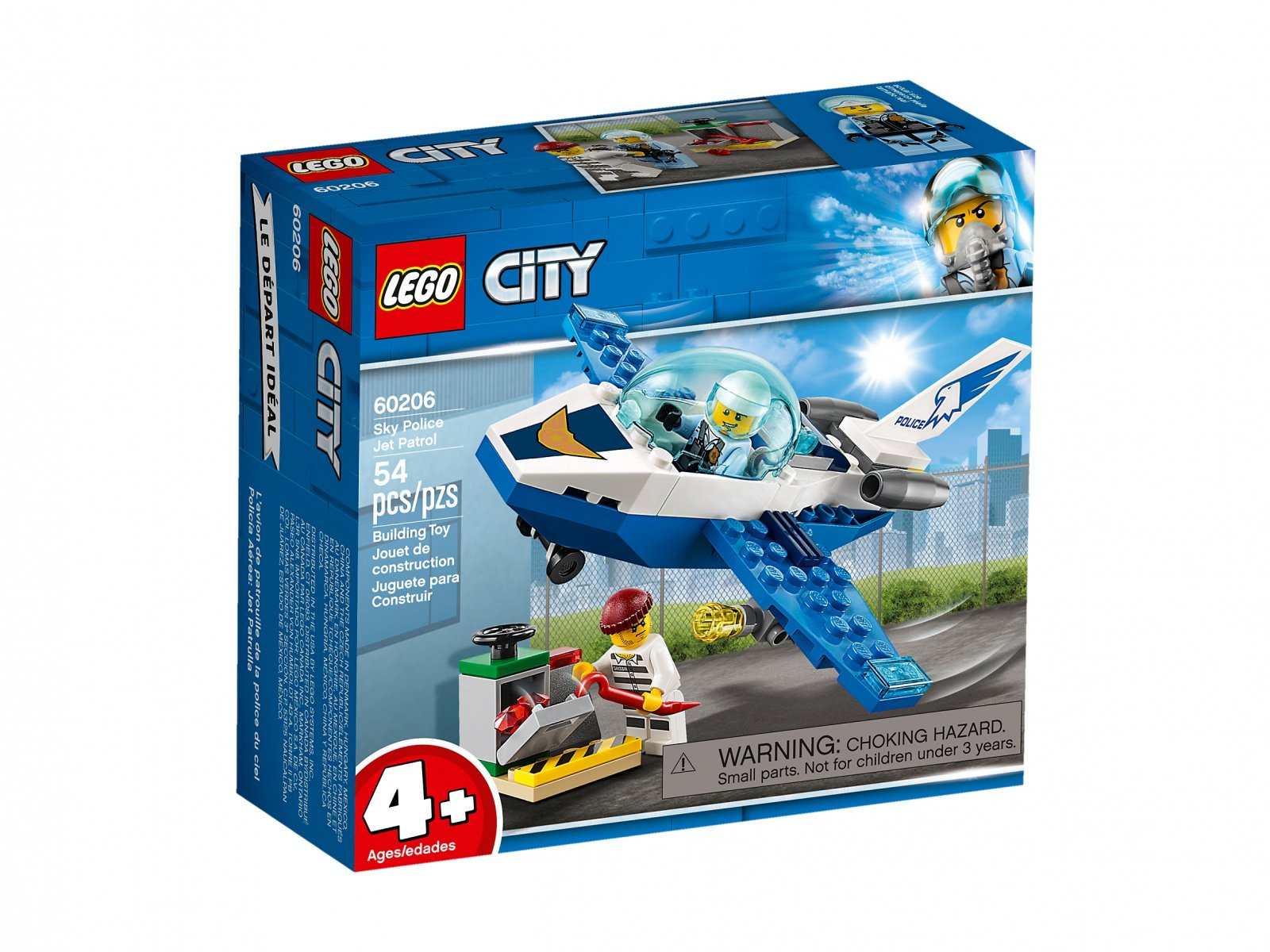 LEGO City Policyjny patrol powietrzny