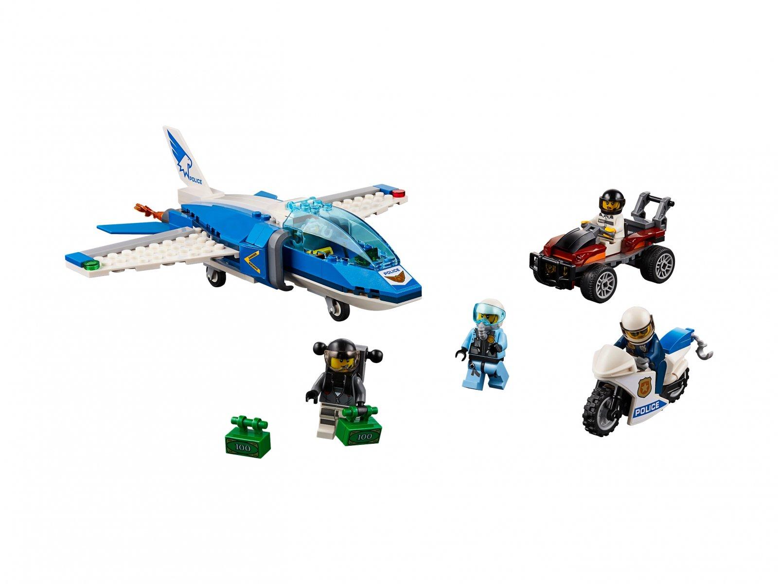 LEGO 60208 City Aresztowanie spadochroniarza