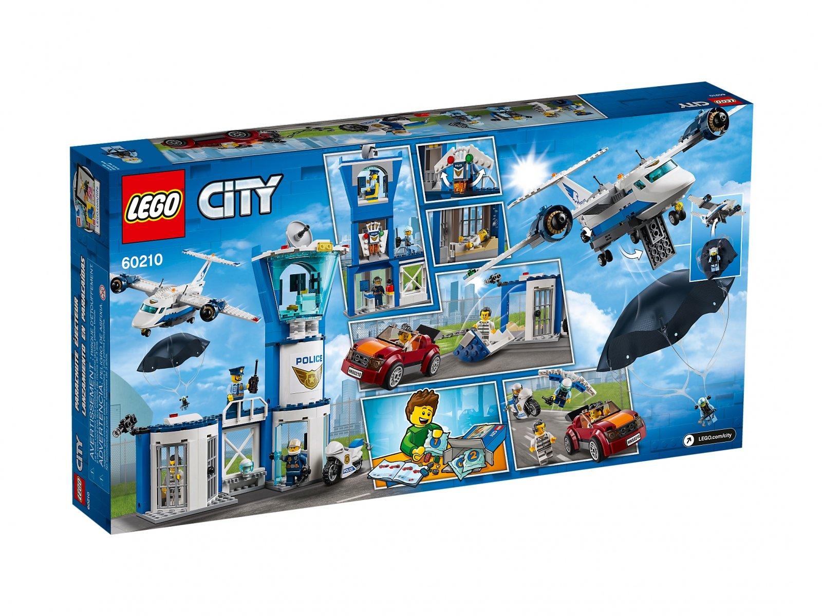 LEGO 60210 Baza policji powietrznej