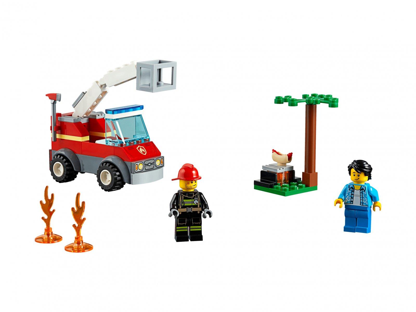 LEGO City Płonący grill