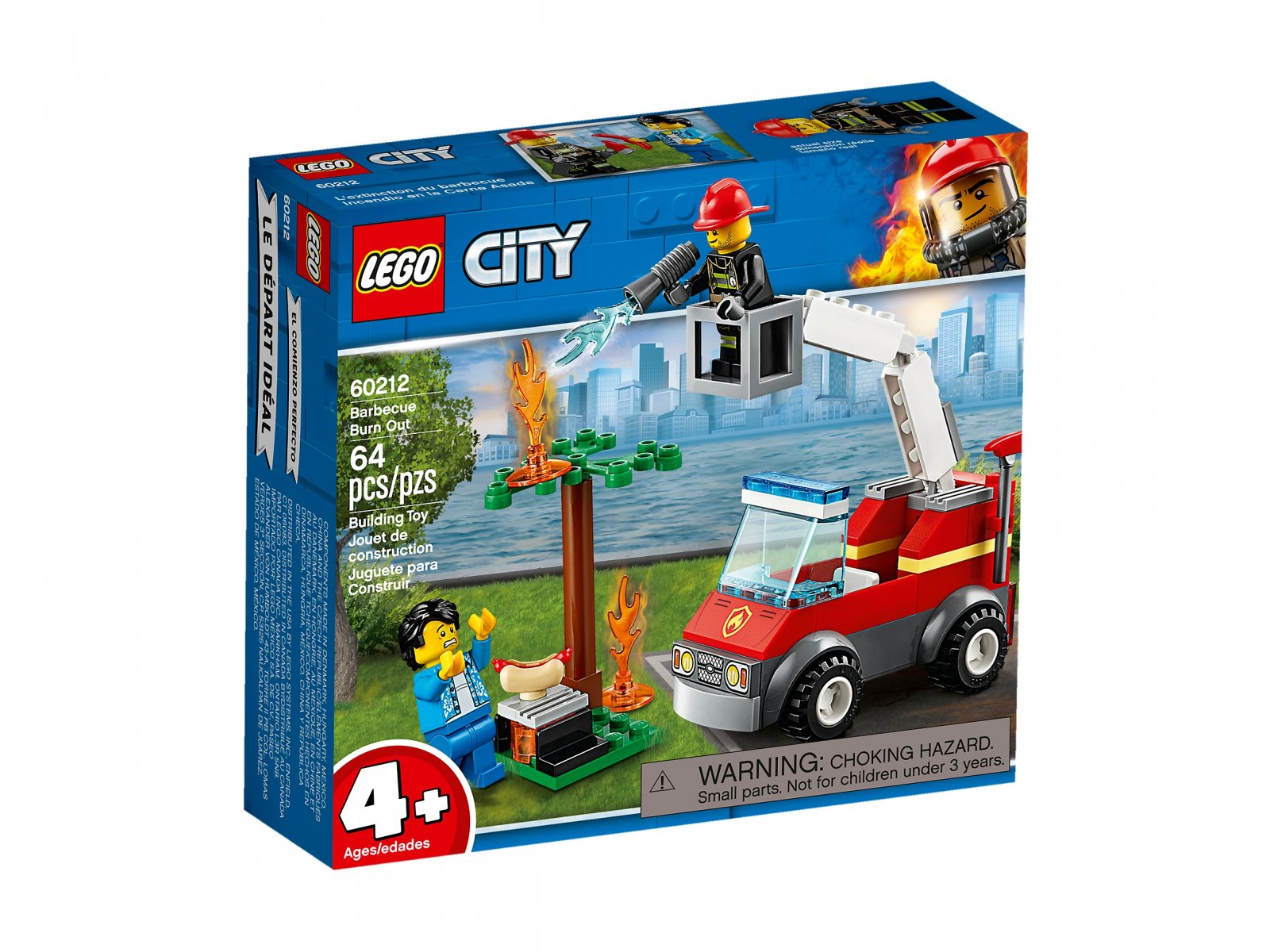LEGO 60212 Płonący grill
