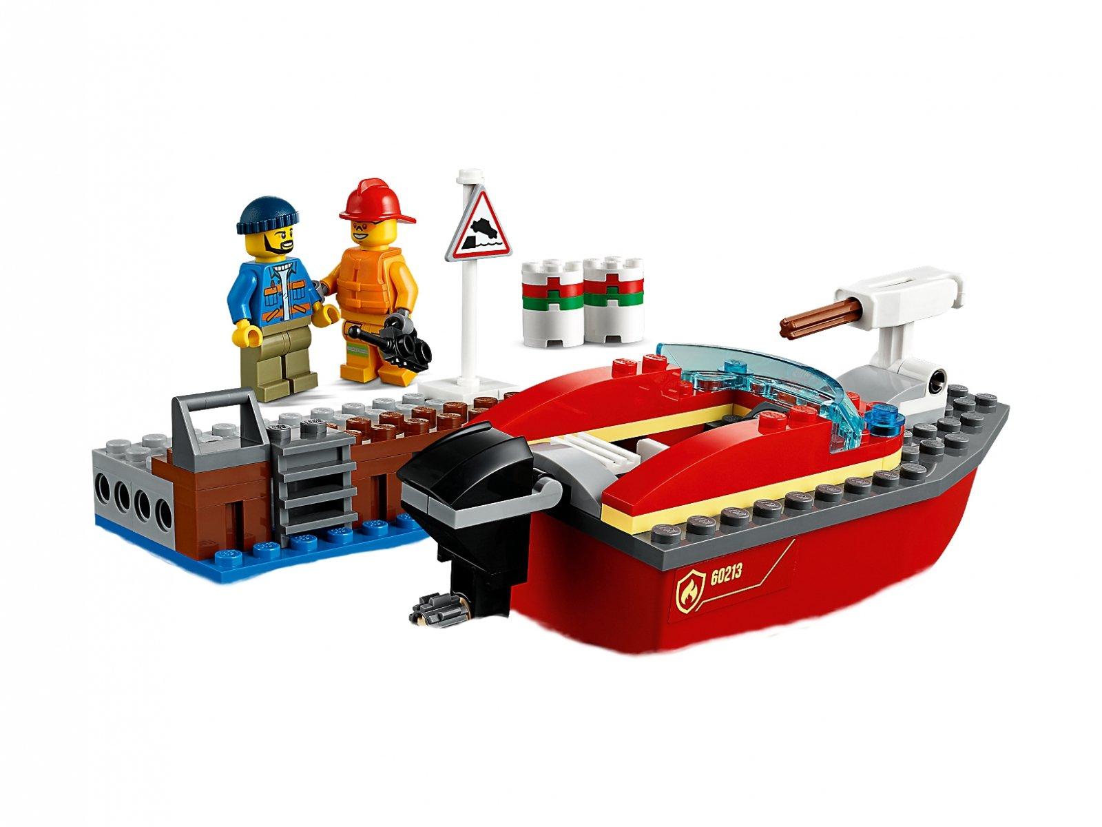 LEGO City Pożar w dokach 60213
