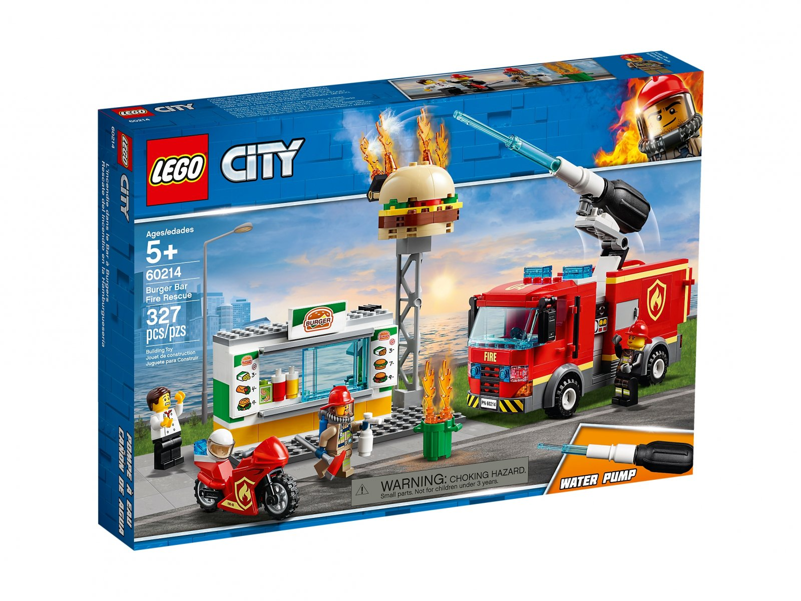 LEGO City Na ratunek w płonącym barze 60214