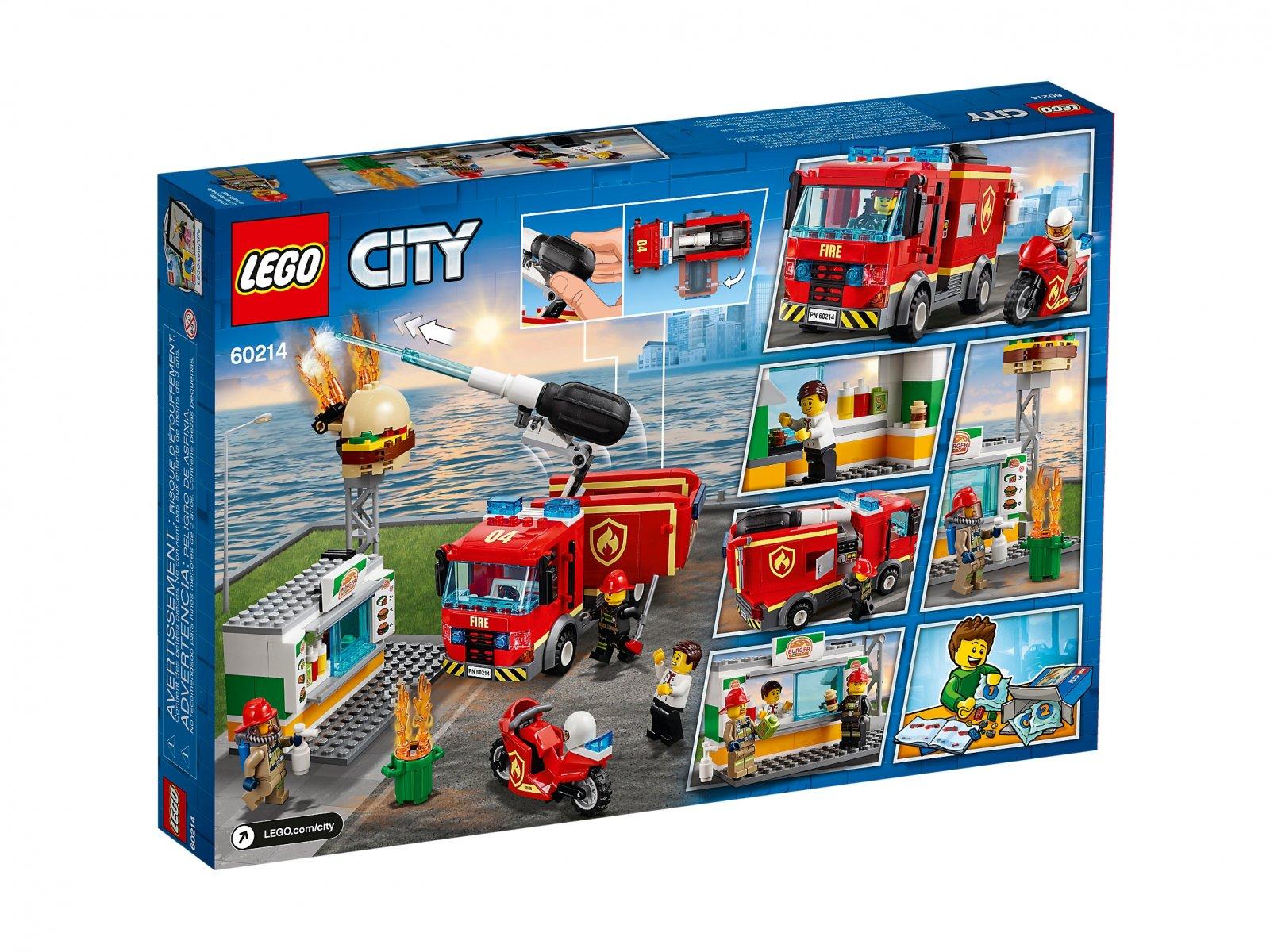 LEGO 60214 City Na ratunek w płonącym barze