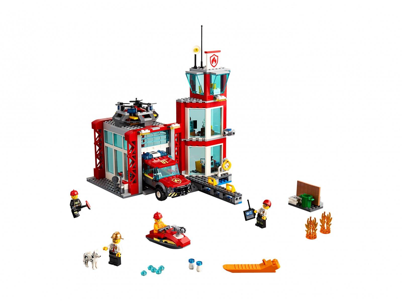 LEGO 60215 City Remiza strażacka