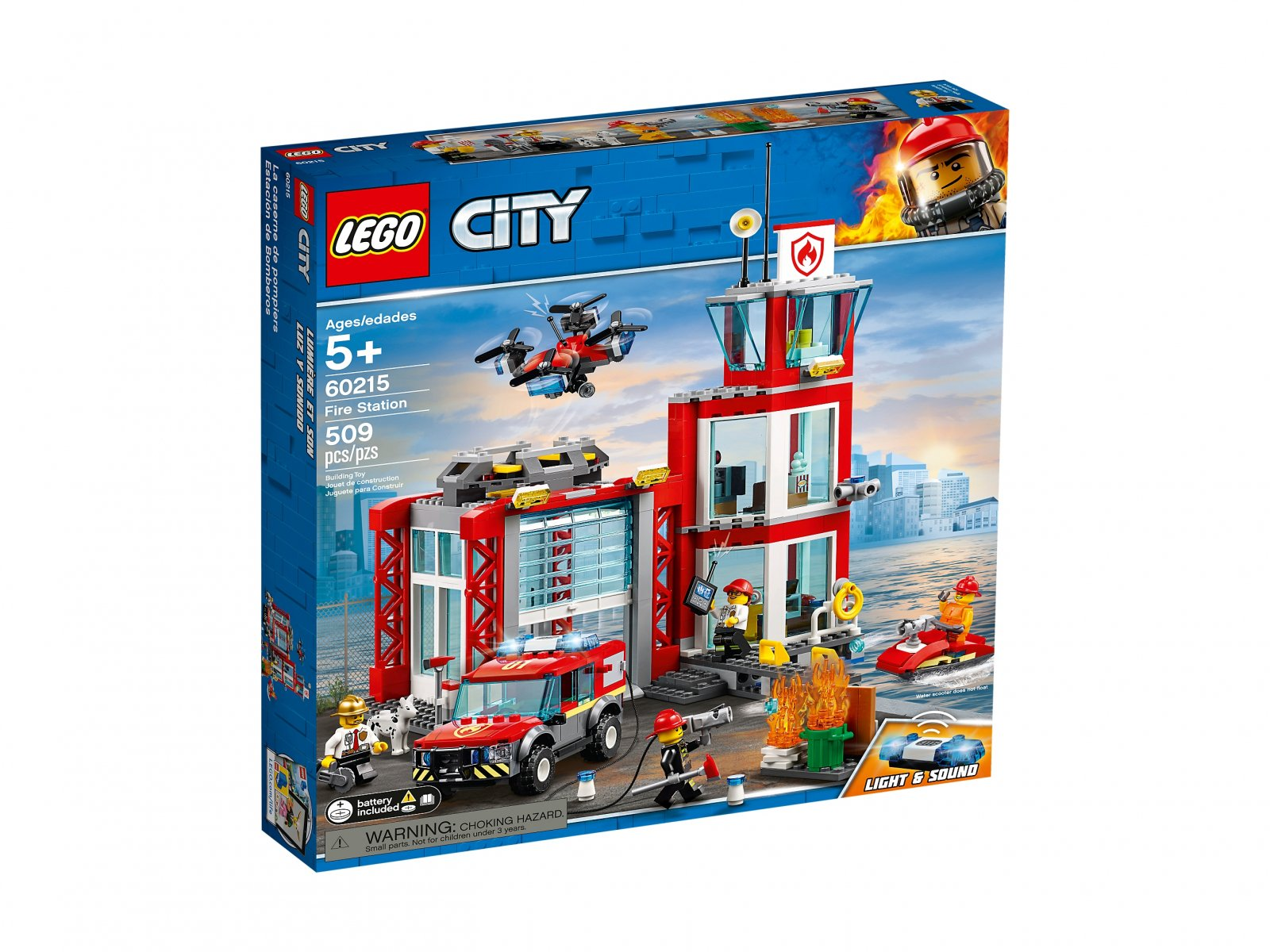 LEGO City 60215 Remiza strażacka
