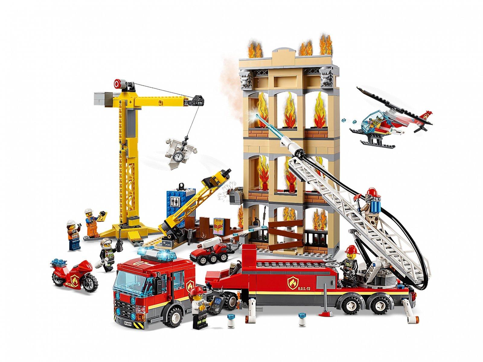 Lego 60216 City Straż Pożarna W śródmieściu