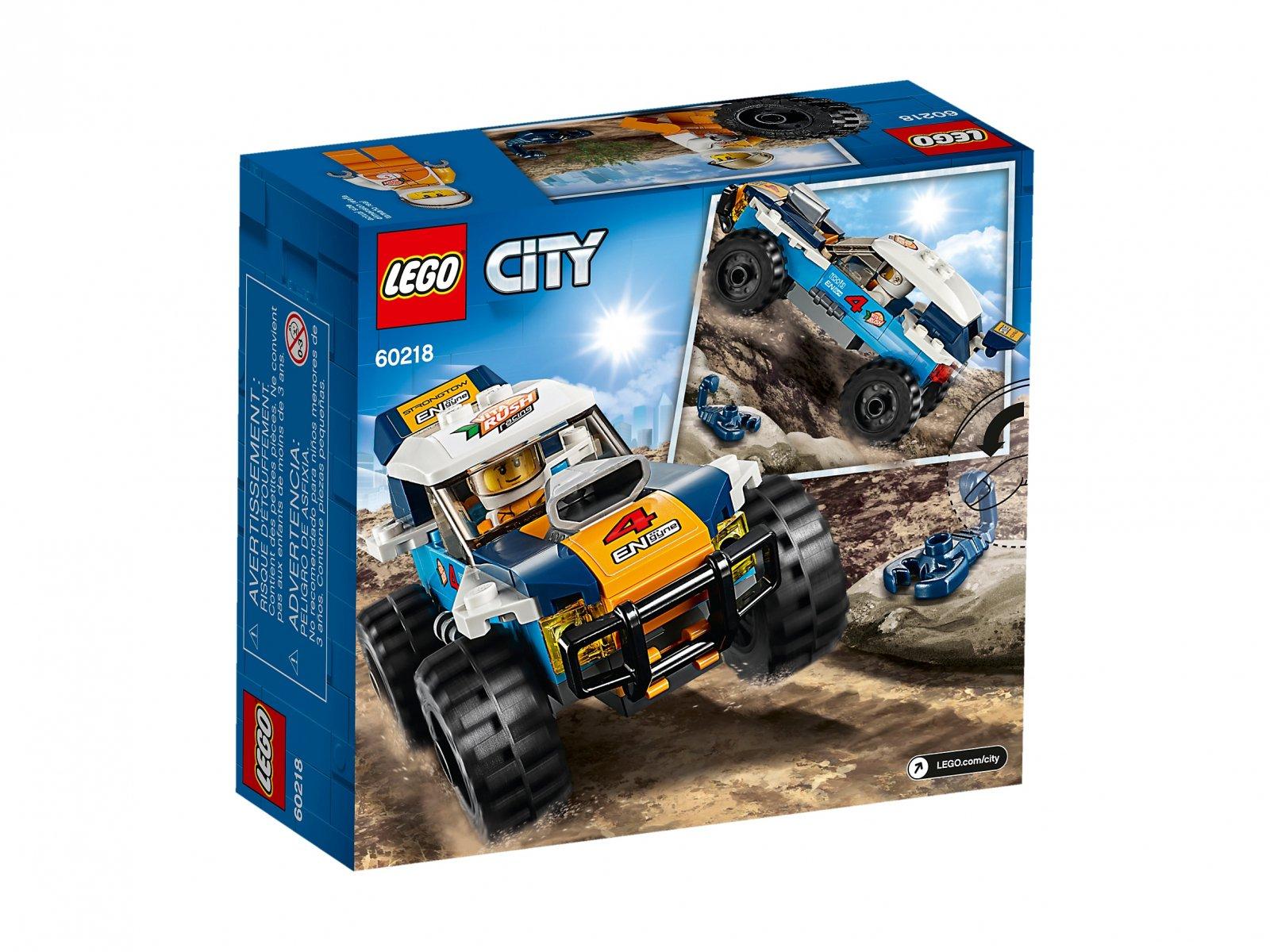 LEGO 60218 Pustynna wyścigówka