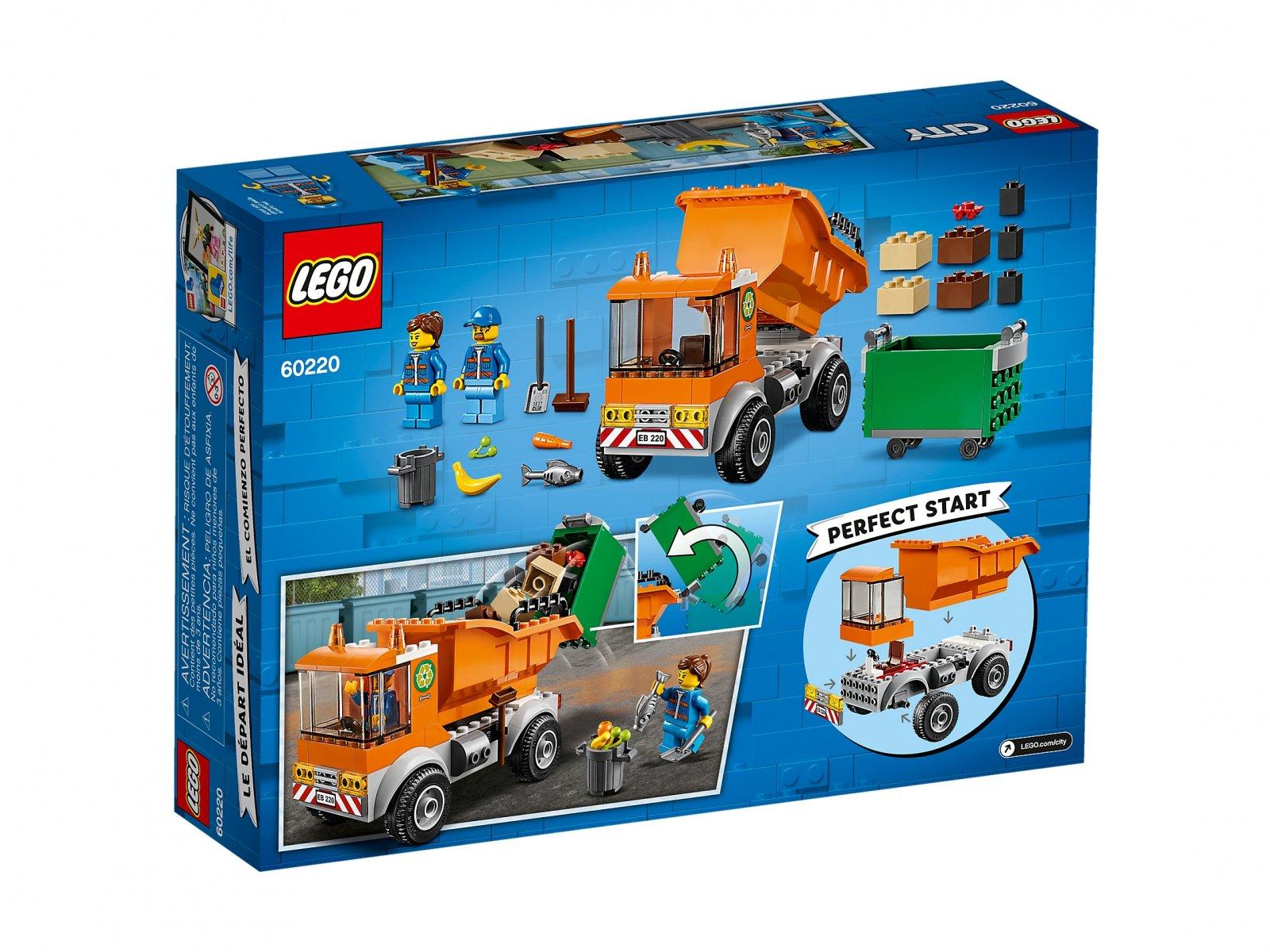 LEGO City Śmieciarka