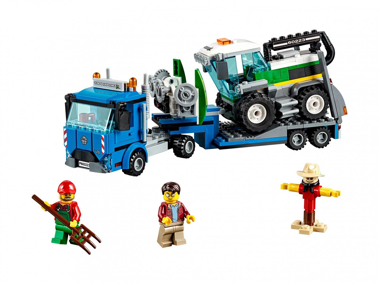 LEGO 60223 City Transporter kombajnu