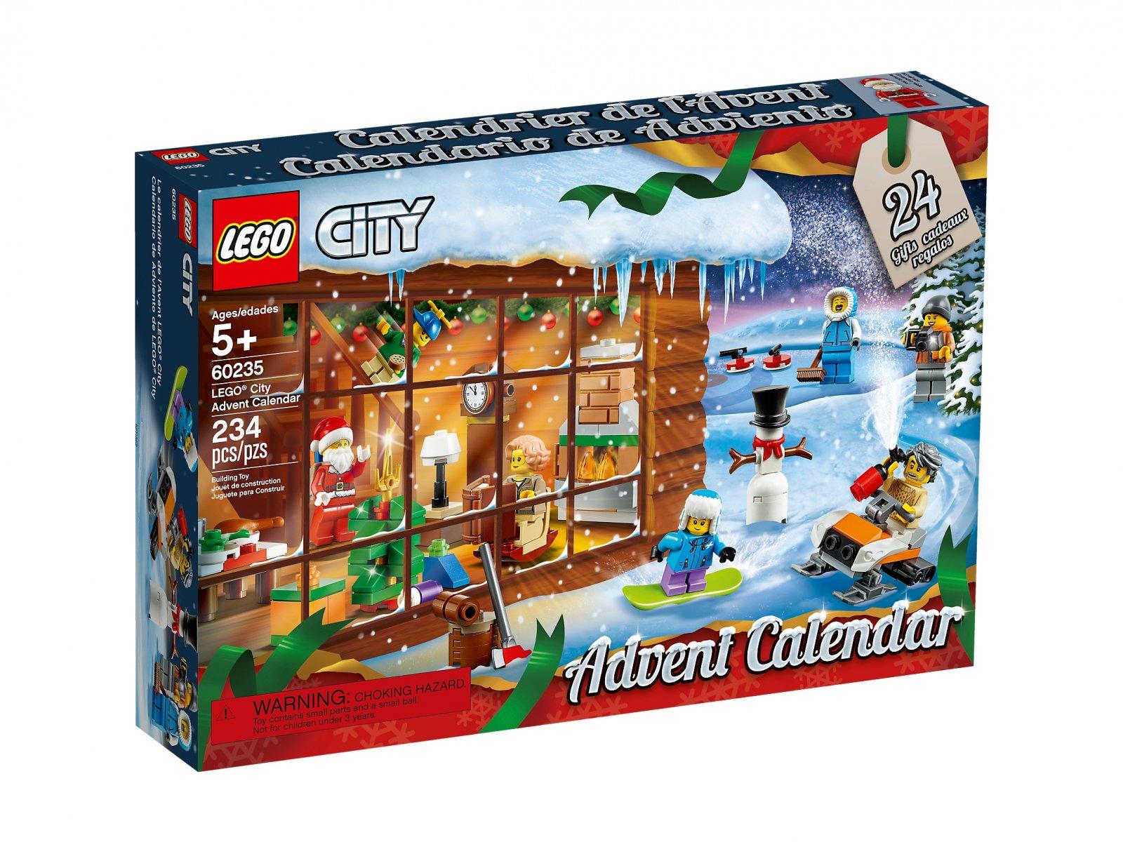 LEGO City 60235 Kalendarz adwentowy
