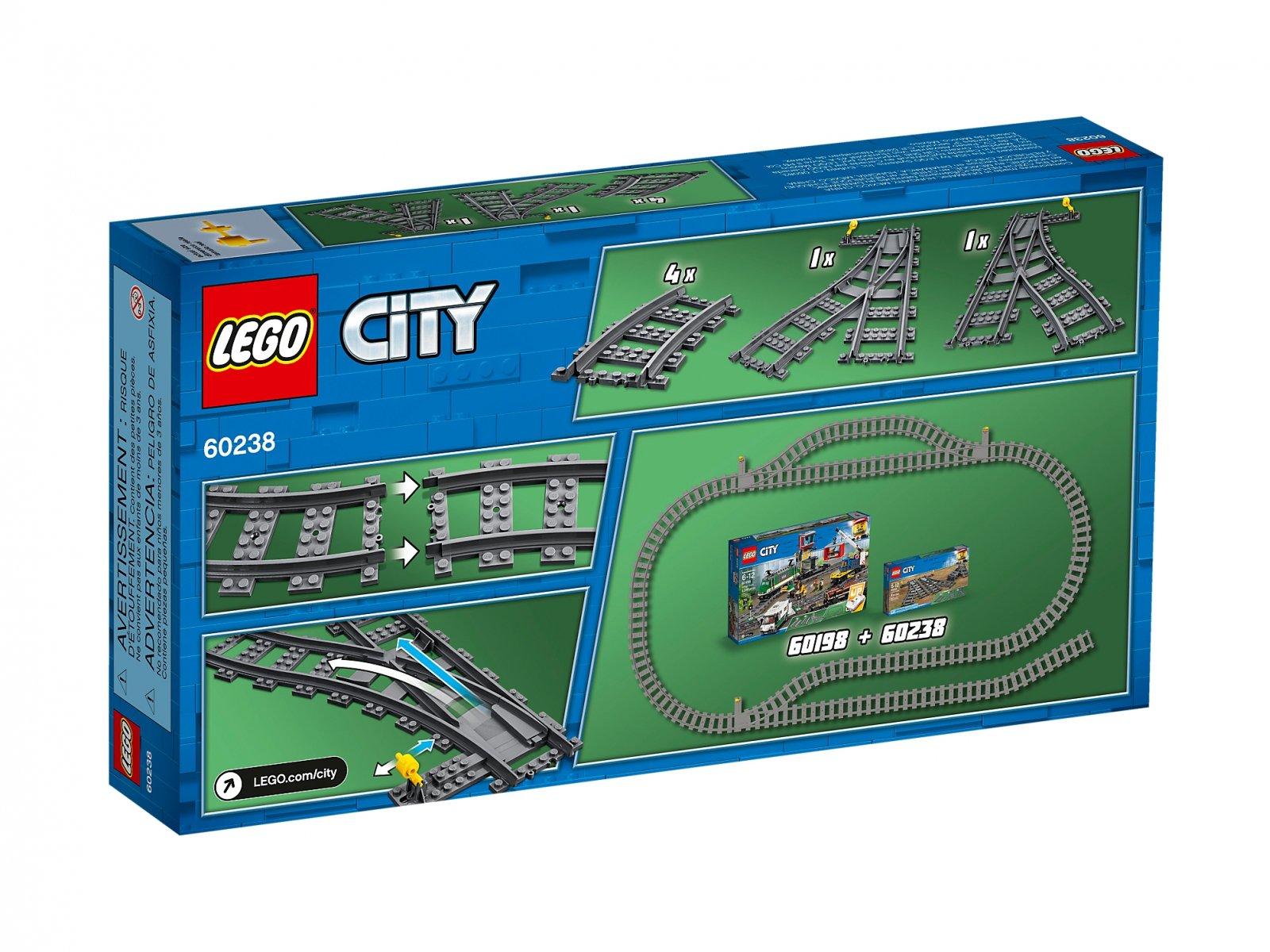 LEGO 60238 Zwrotnice