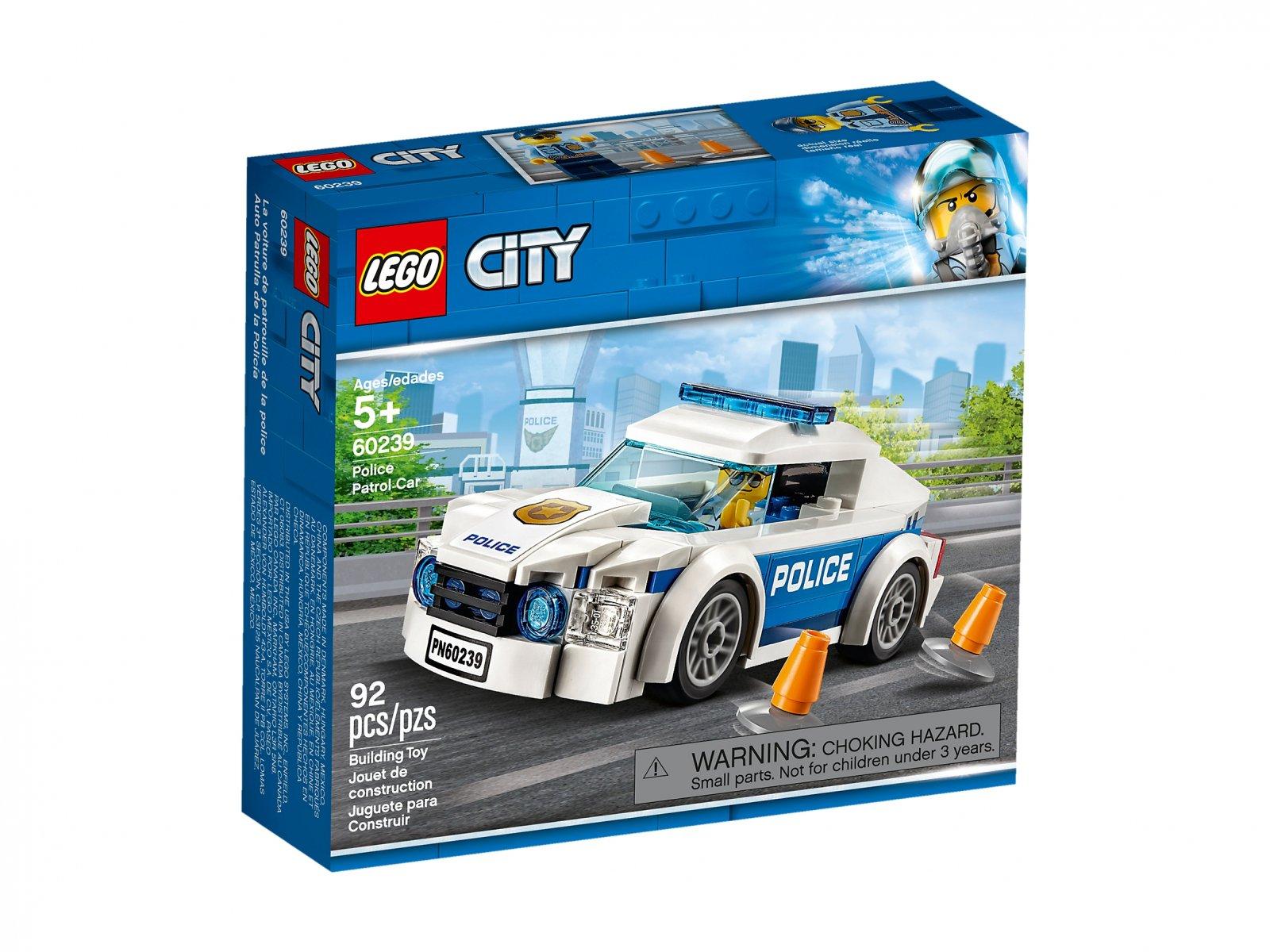 LEGO City Samochód policyjny 60239