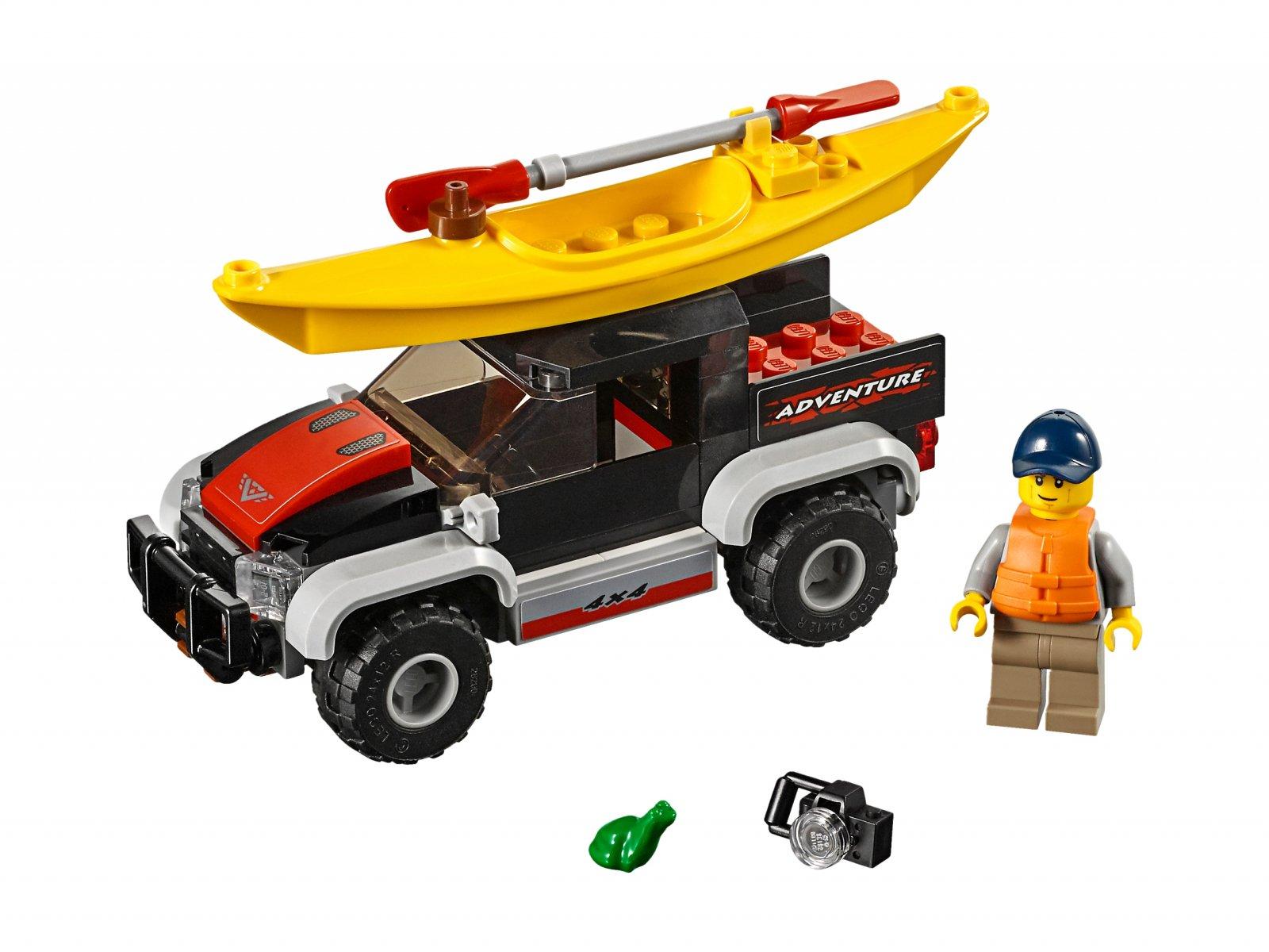LEGO 60240 City Przygoda w kajaku