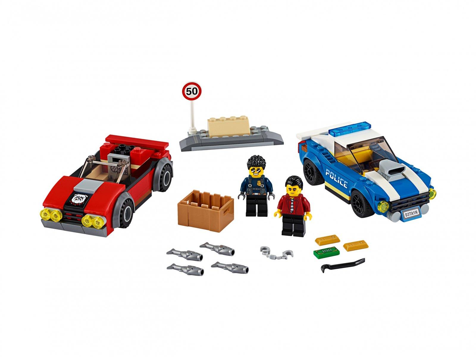 LEGO 60242 Aresztowanie na autostradzie
