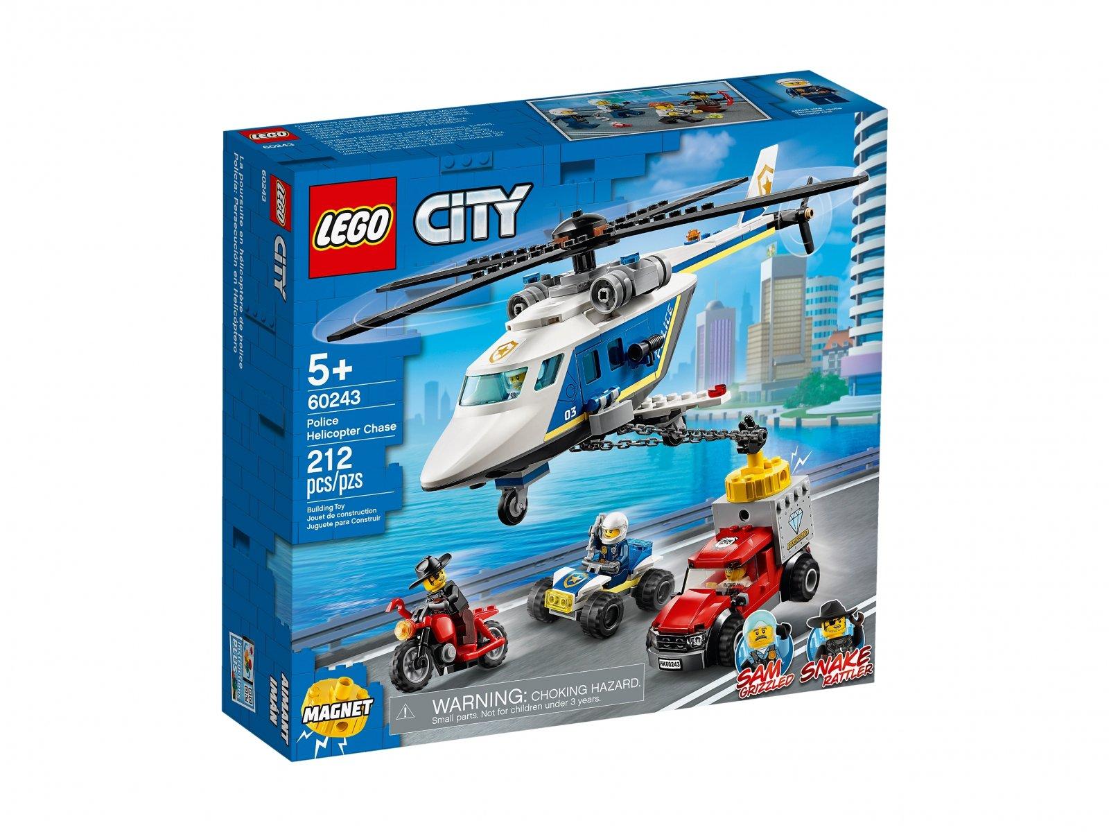 LEGO 60243 Pościg helikopterem policyjnym