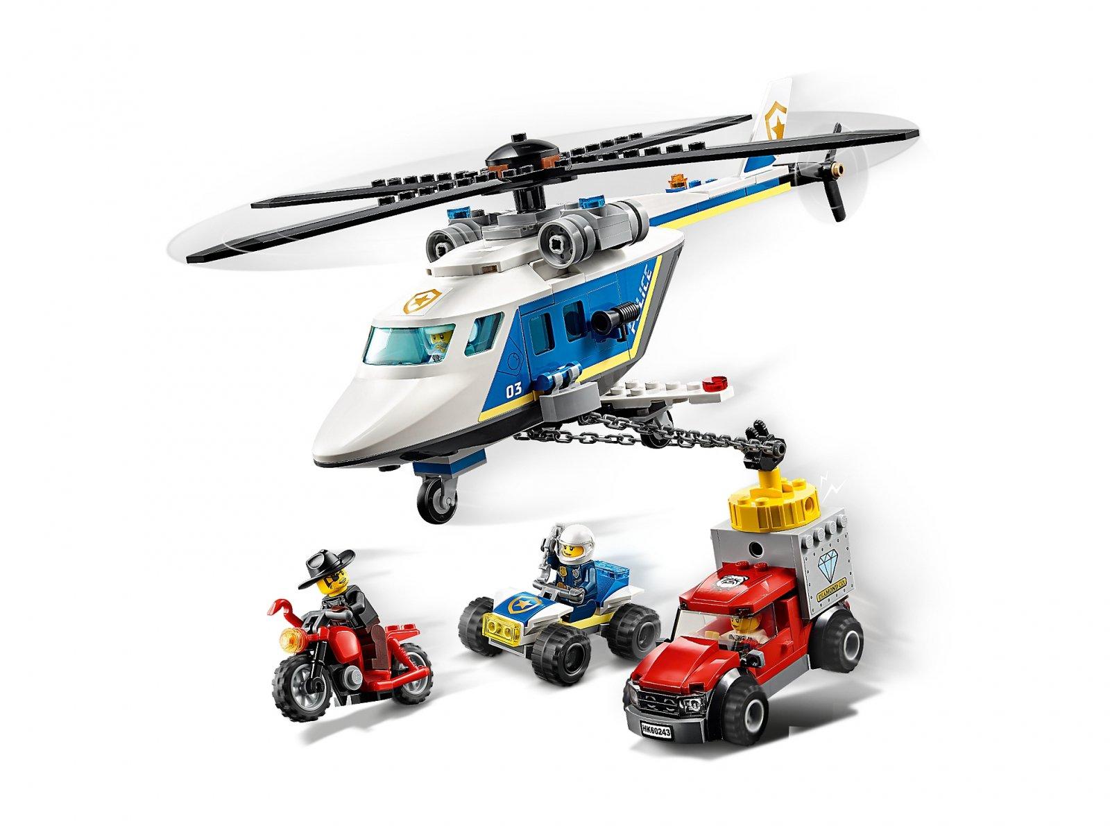 LEGO 60243 City Pościg helikopterem policyjnym