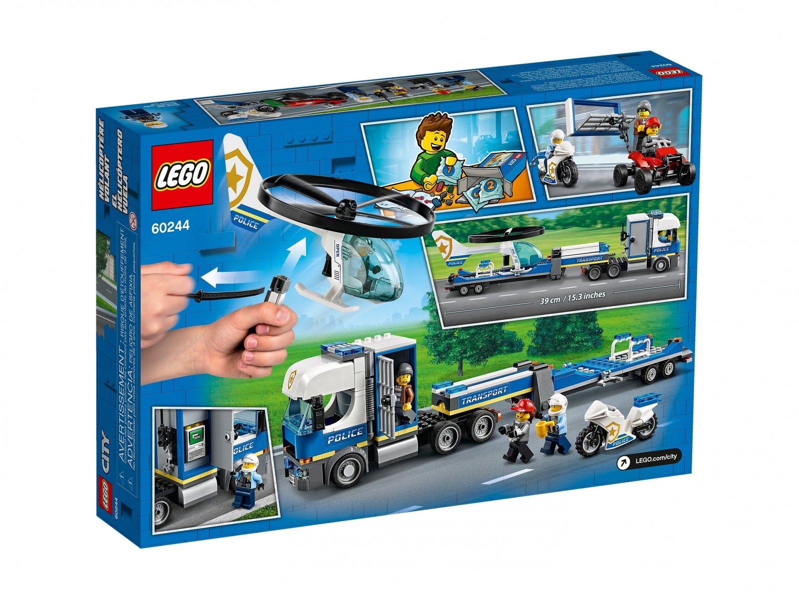LEGO 60244 City Laweta helikoptera policyjnego