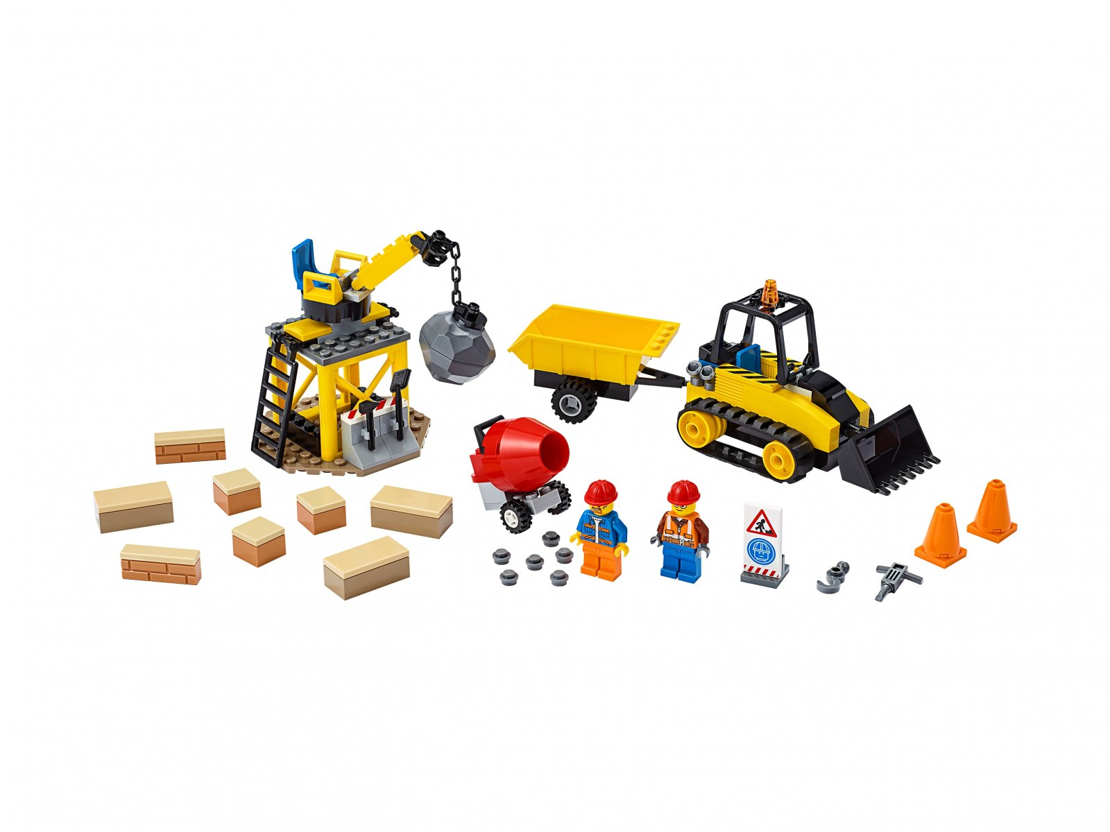 LEGO 60252 Buldożer budowlany