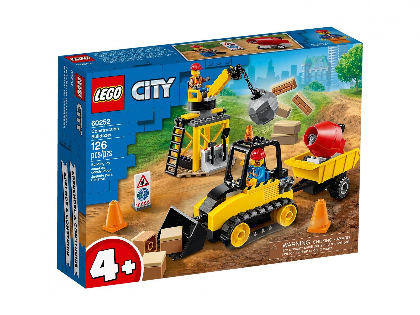 LEGO 60252 City Buldożer budowlany