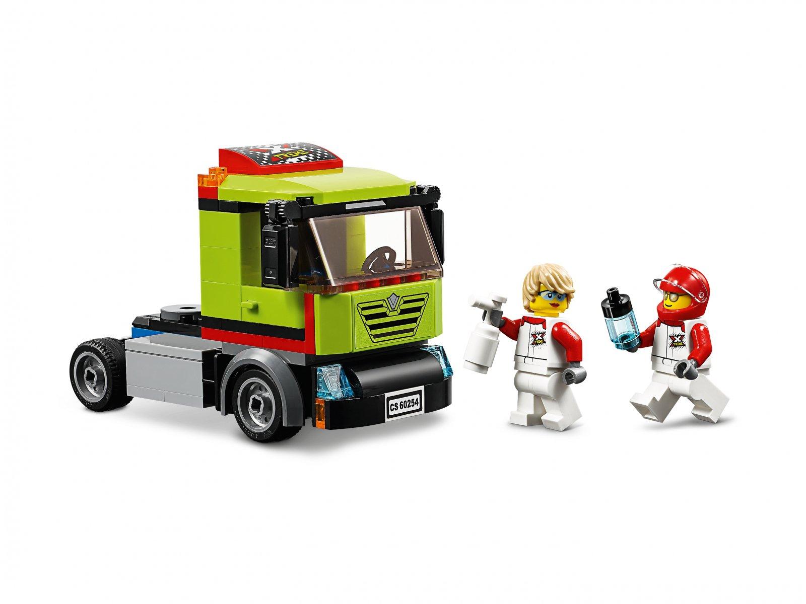 LEGO City 60254 Transporter łodzi wyścigowej