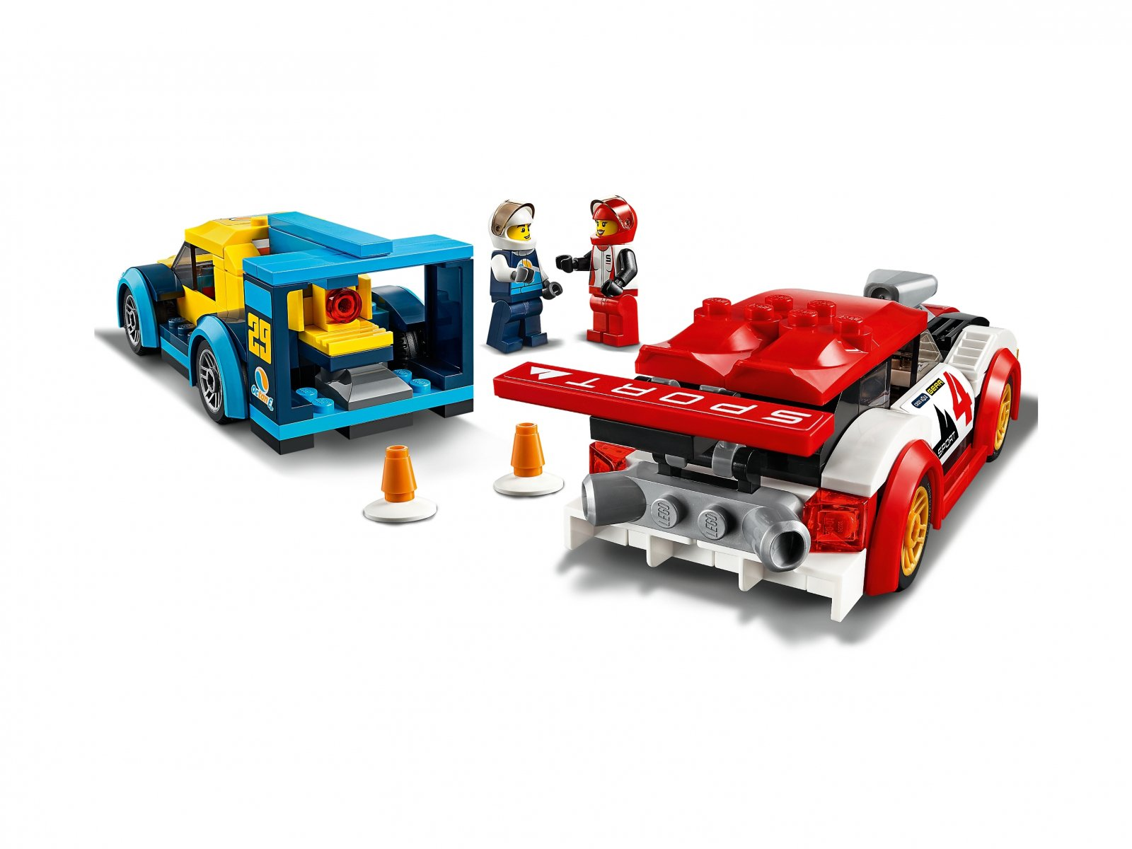 LEGO 60256 Samochody wyścigowe