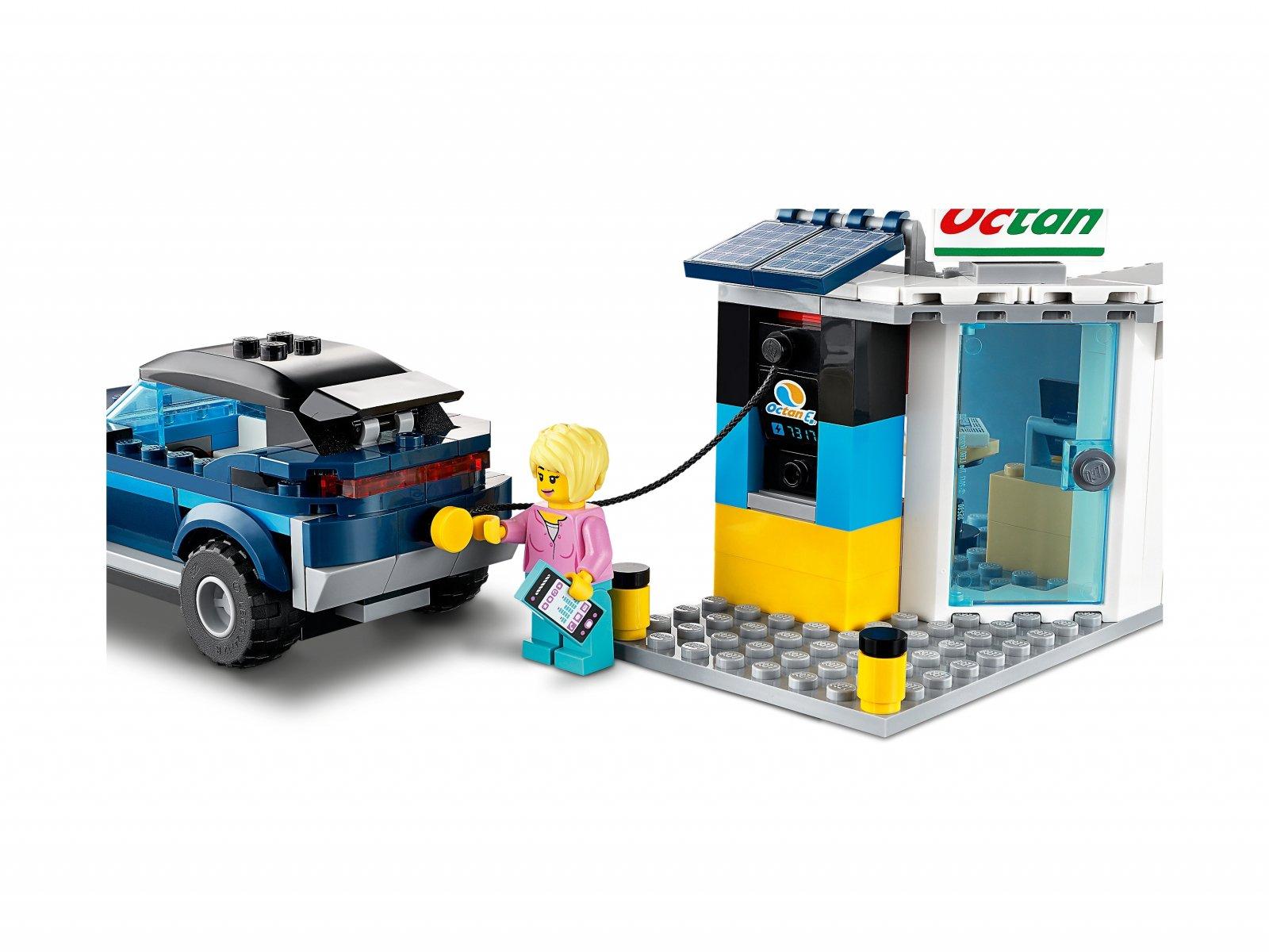 LEGO City Stacja benzynowa 60257