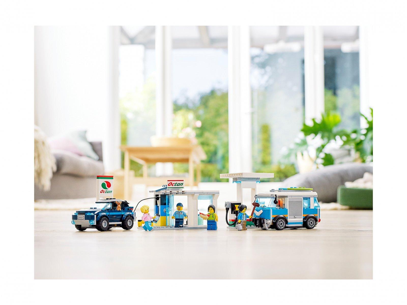 LEGO 60257 Stacja benzynowa