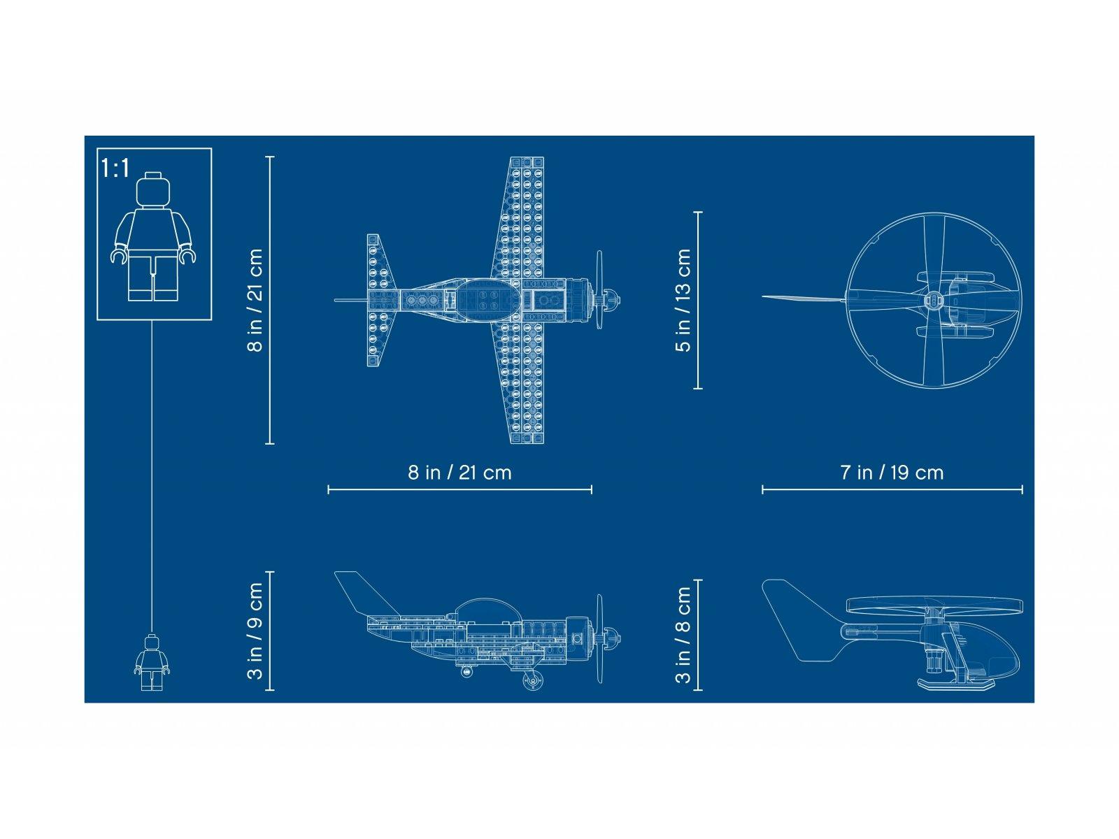 LEGO City 60260 Powietrzny wyścig