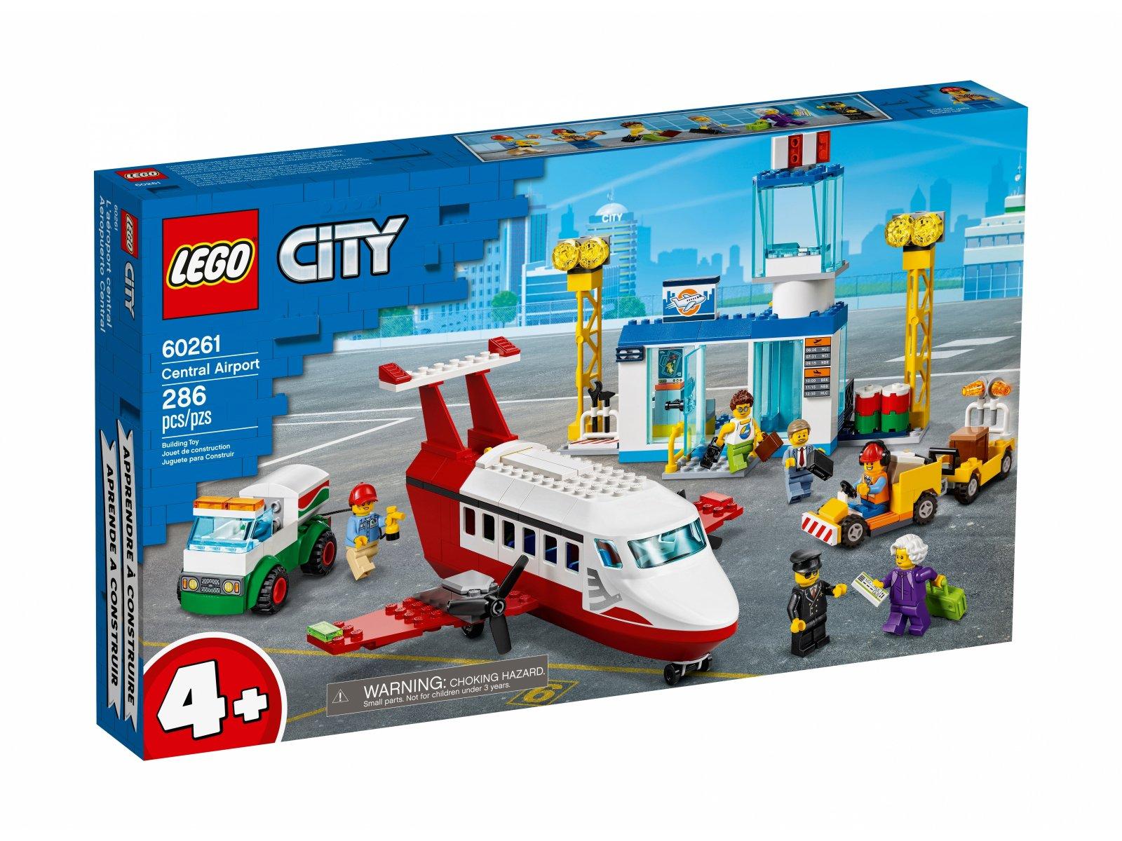 LEGO City Centralny port lotniczy 60261
