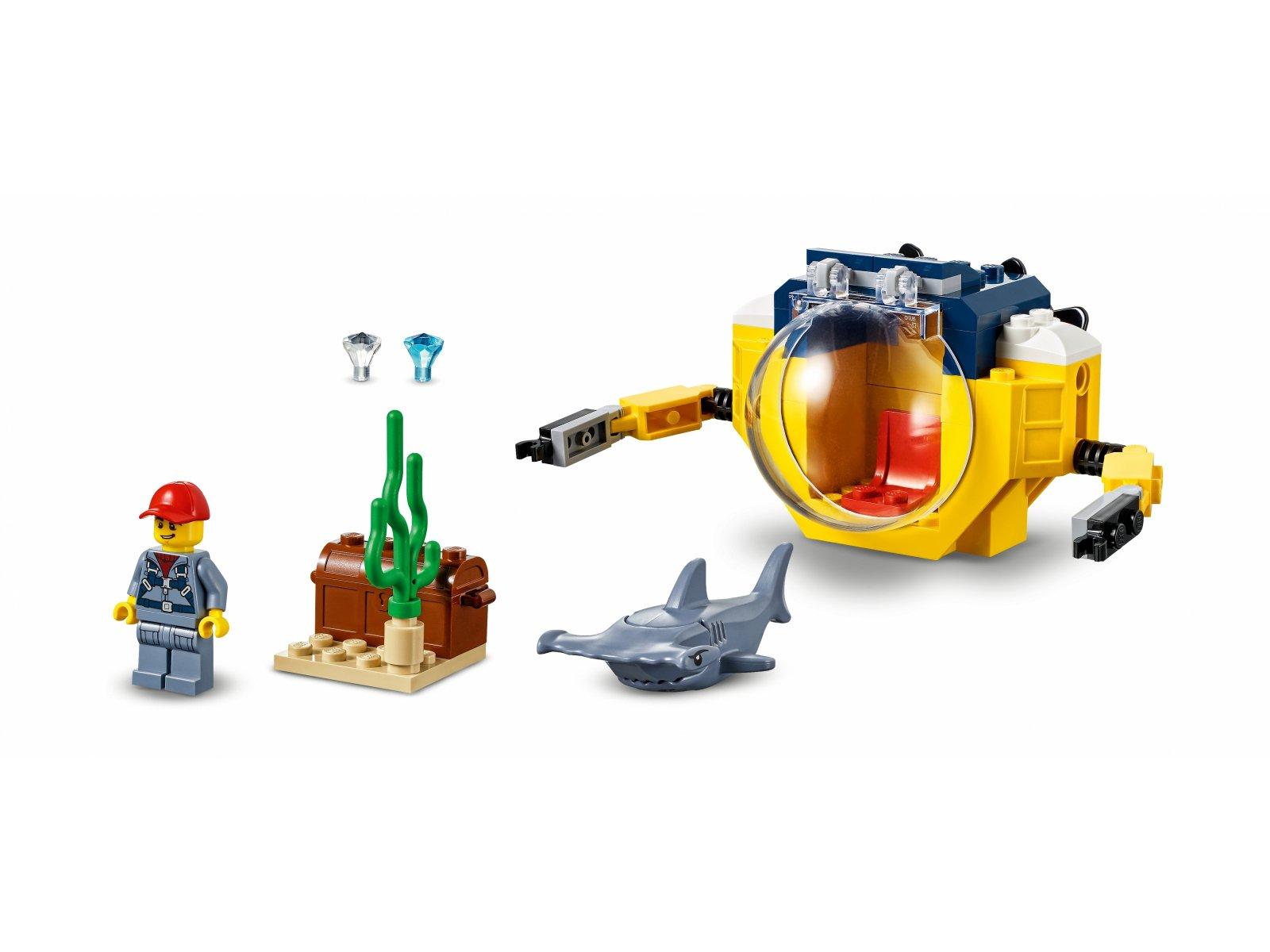 LEGO City 60263 Oceaniczna miniłódź podwodna