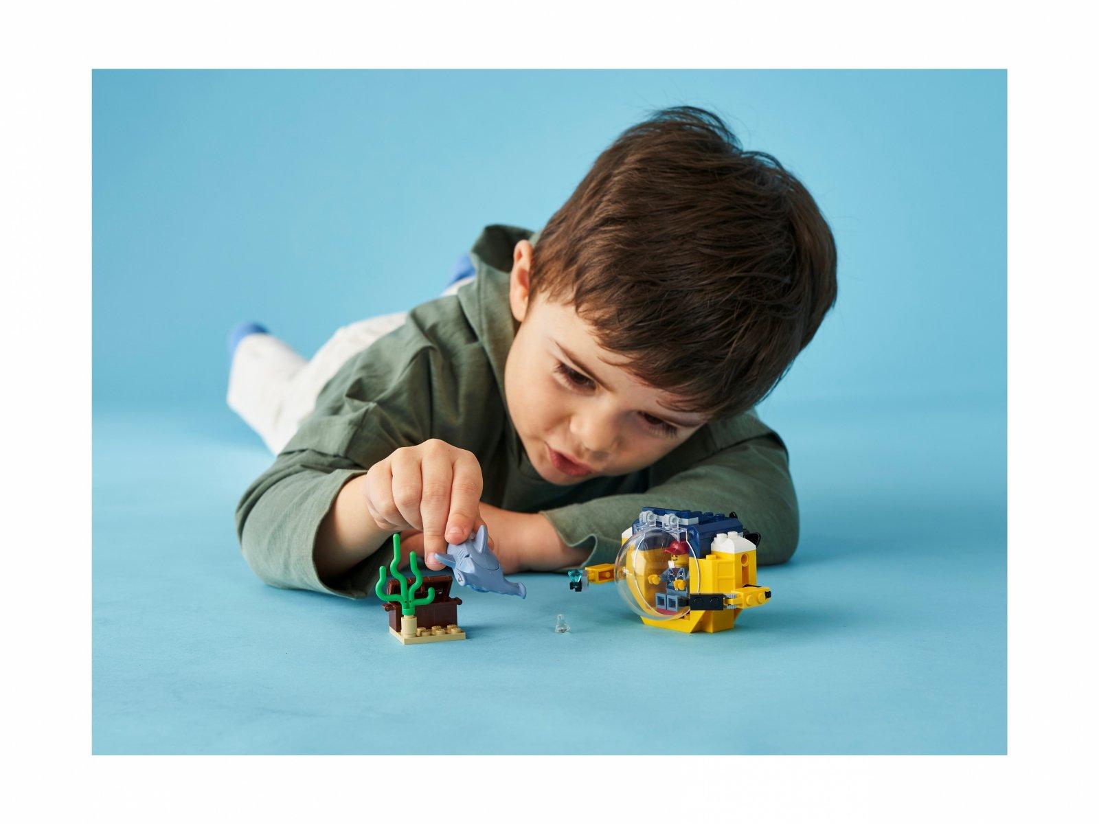 LEGO 60263 Oceaniczna miniłódź podwodna
