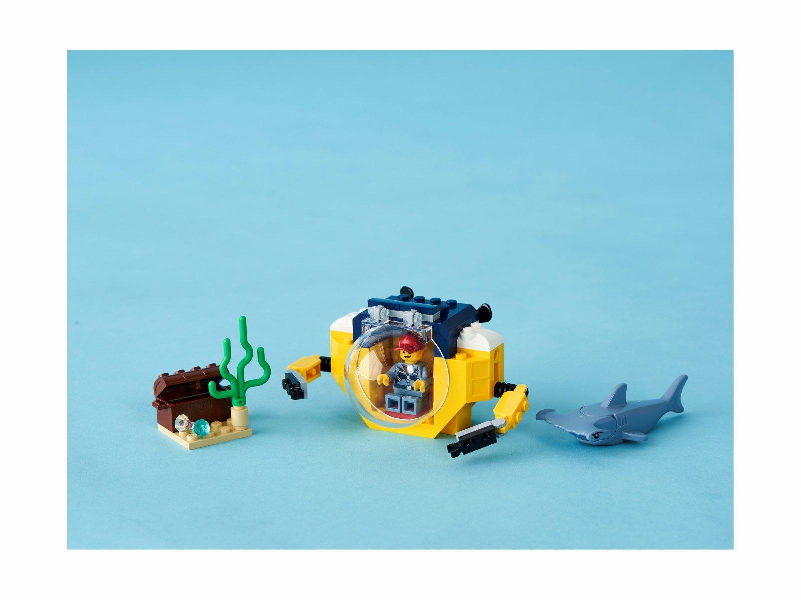 LEGO 60263 City Oceaniczna miniłódź podwodna