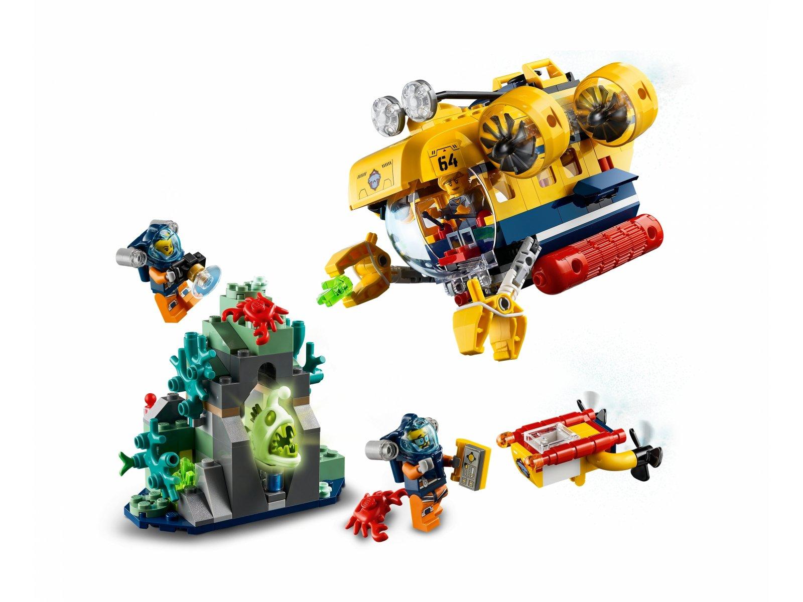 LEGO City 60264 Łódź podwodna badaczy oceanu