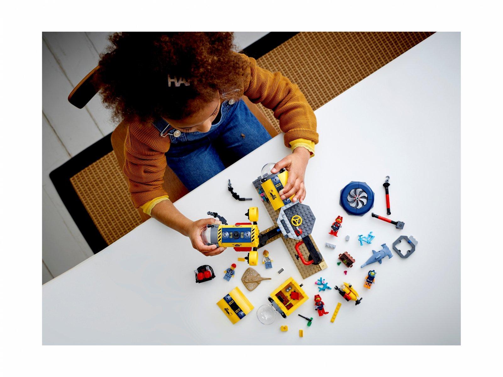 LEGO 60265 Baza badaczy oceanu