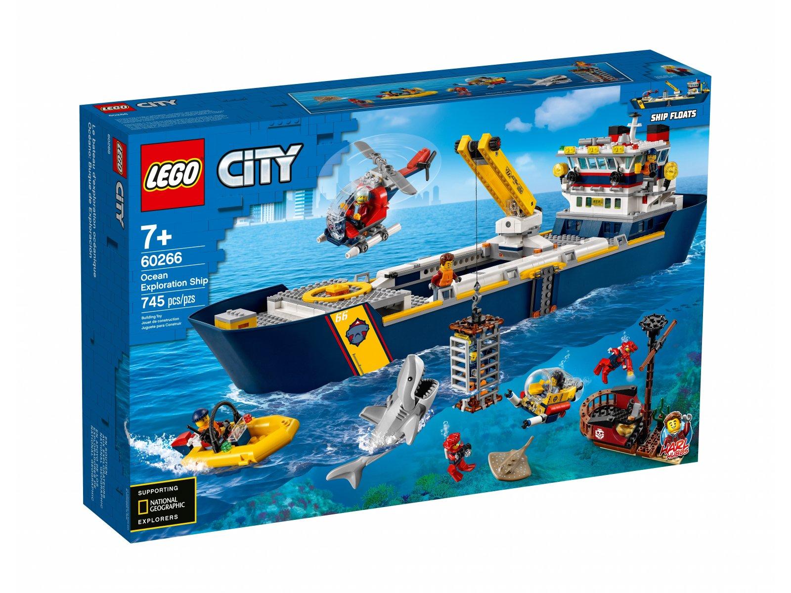 LEGO City 60266 Statek badaczy oceanu