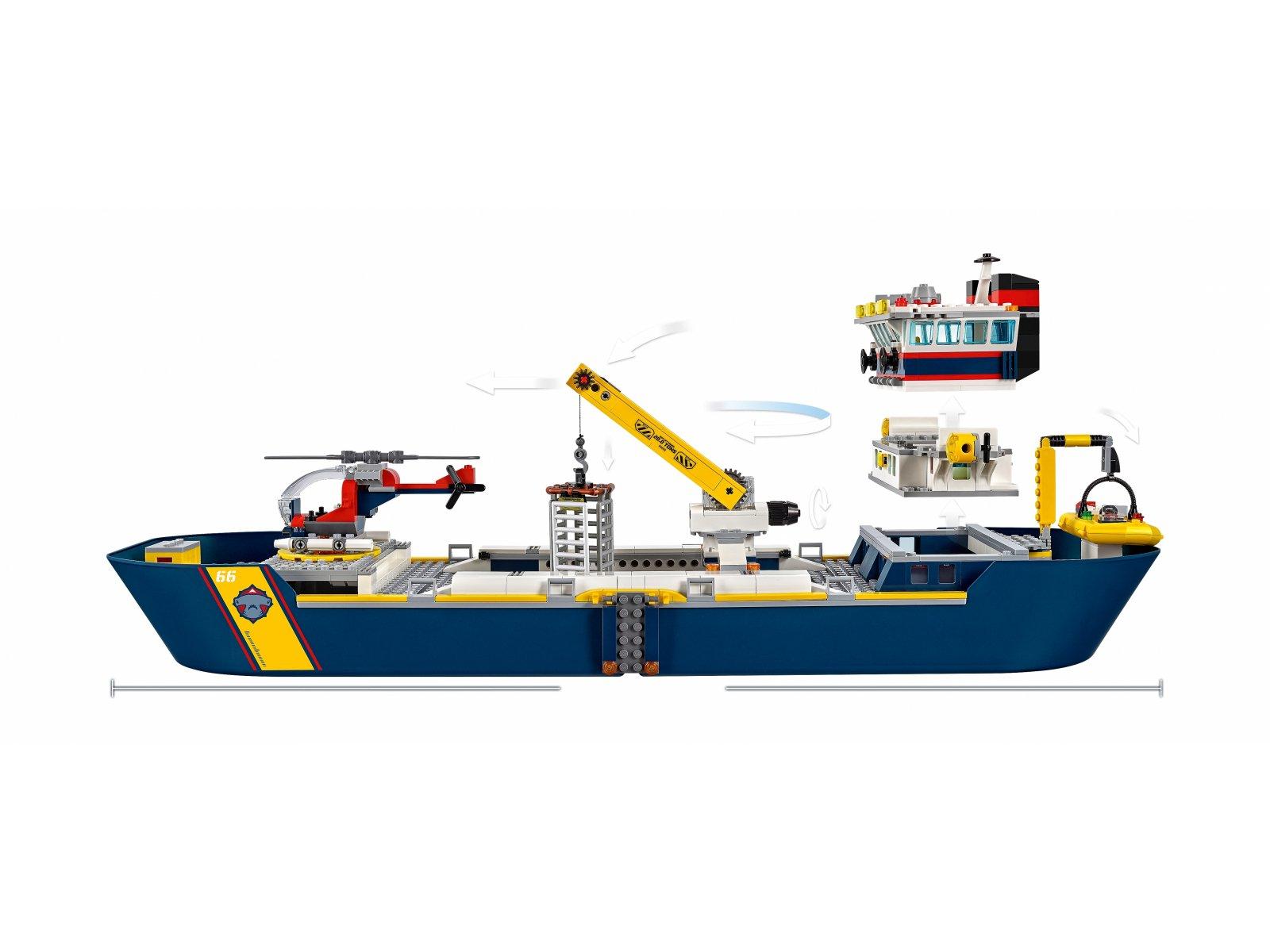 LEGO 60266 City Statek badaczy oceanu