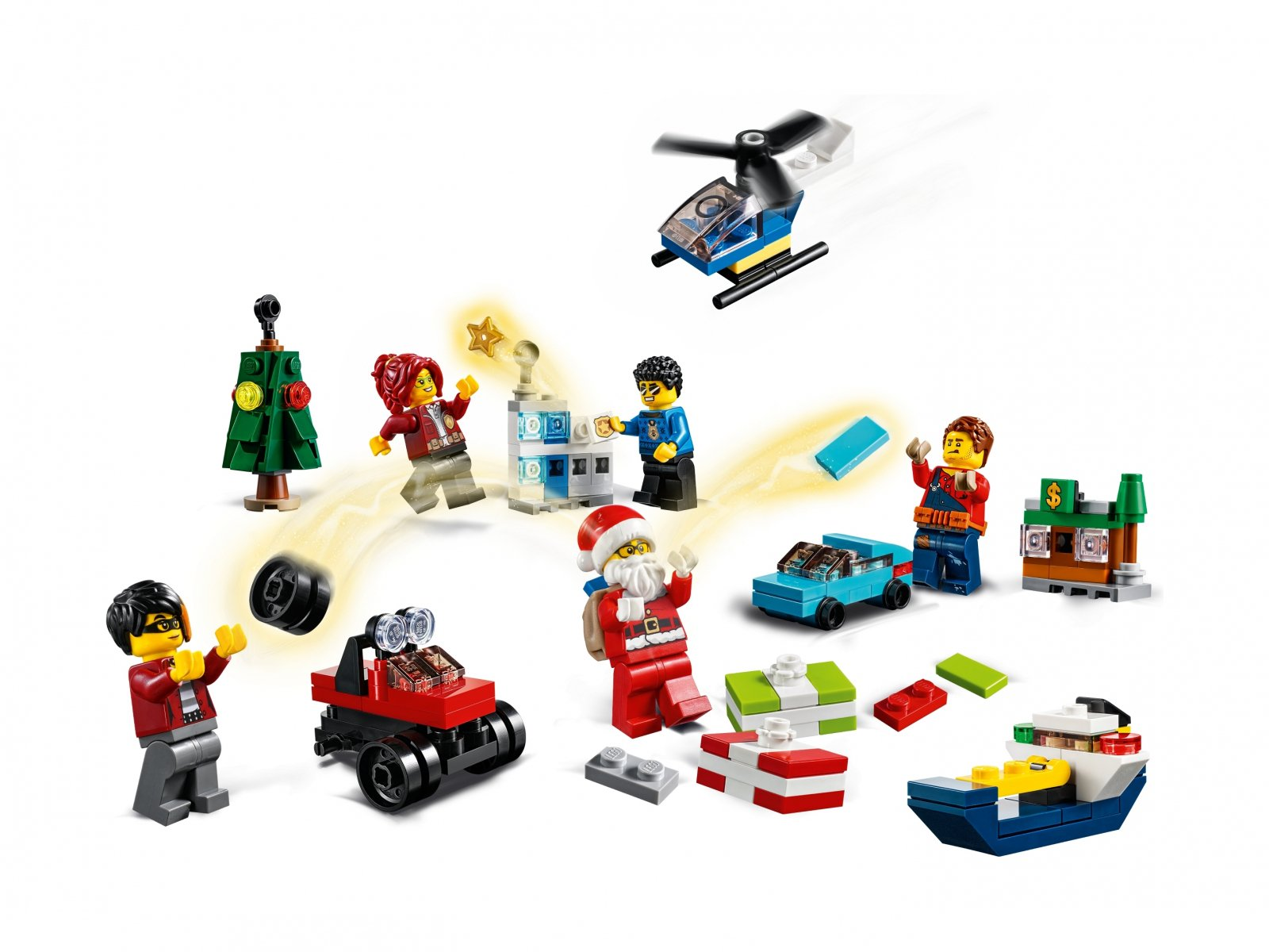 LEGO 60268 City Kalendarz adwentowy
