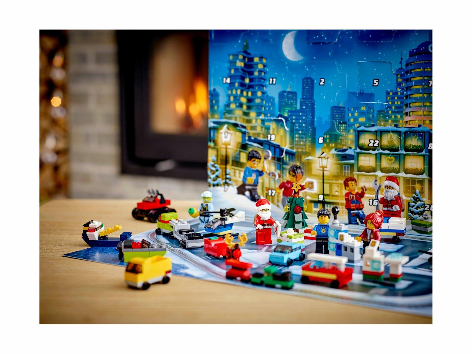 LEGO City 60268 Kalendarz adwentowy