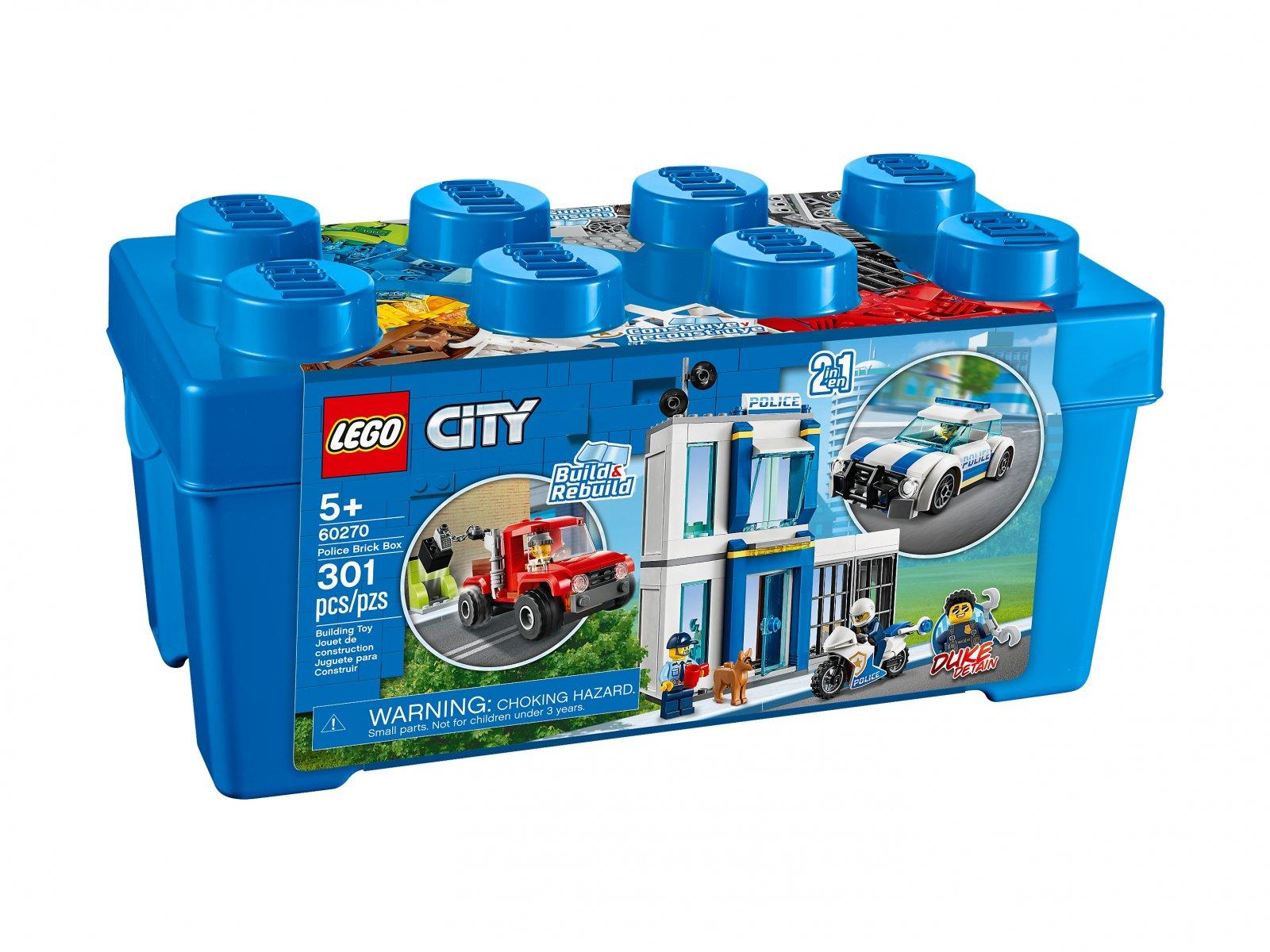 LEGO 60270 Policyjny zestaw klocków