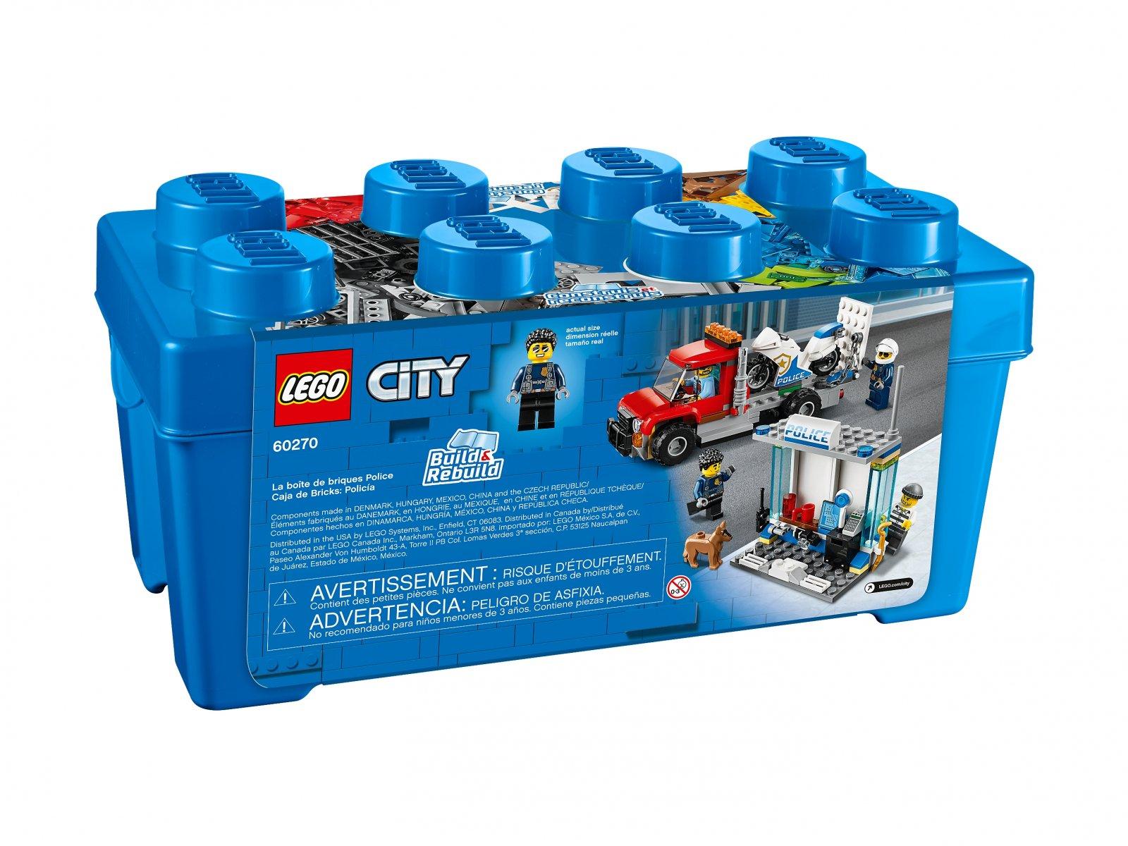 LEGO City 60270 Policyjny zestaw klocków