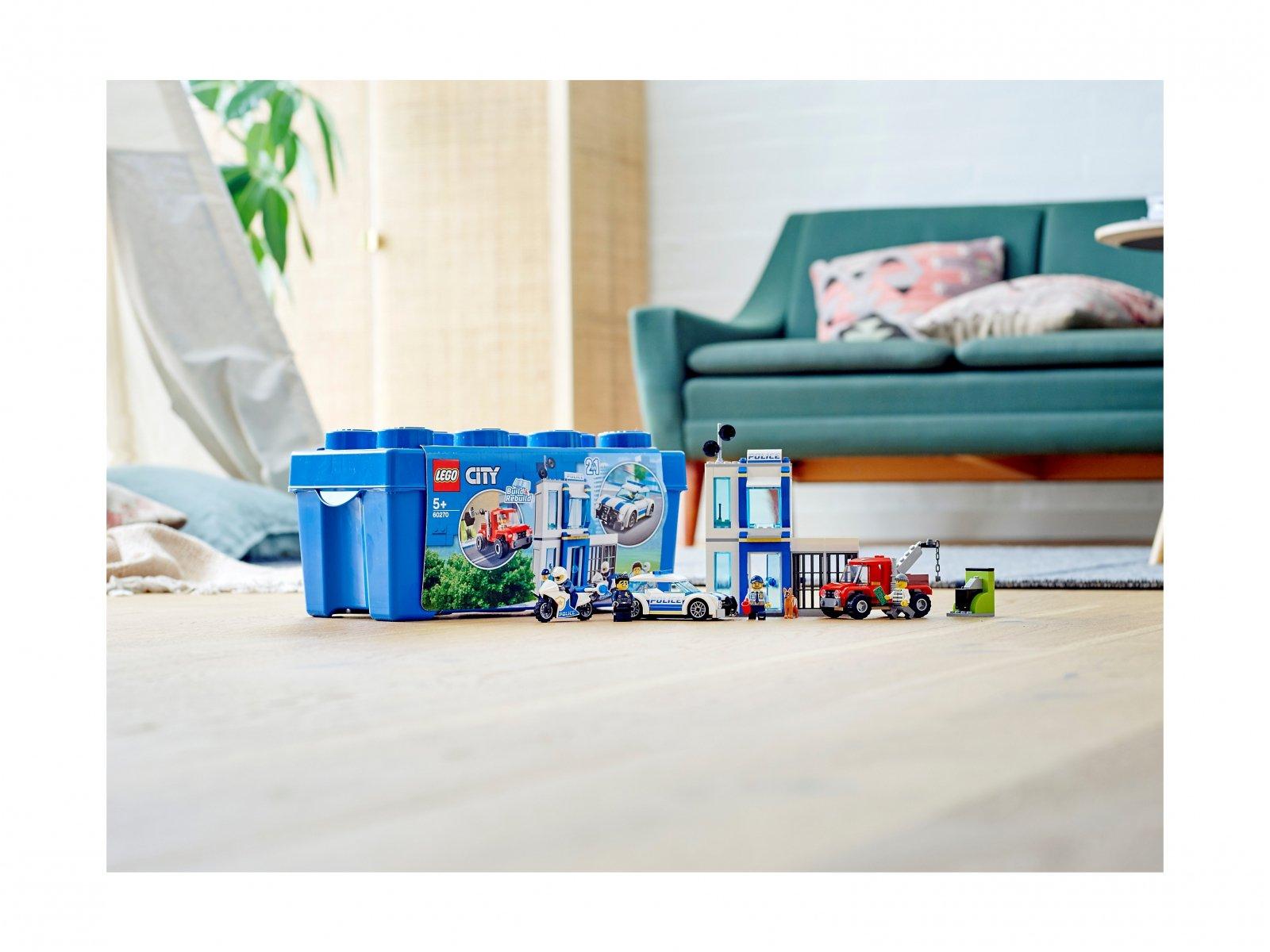 LEGO City Policyjny zestaw klocków 60270