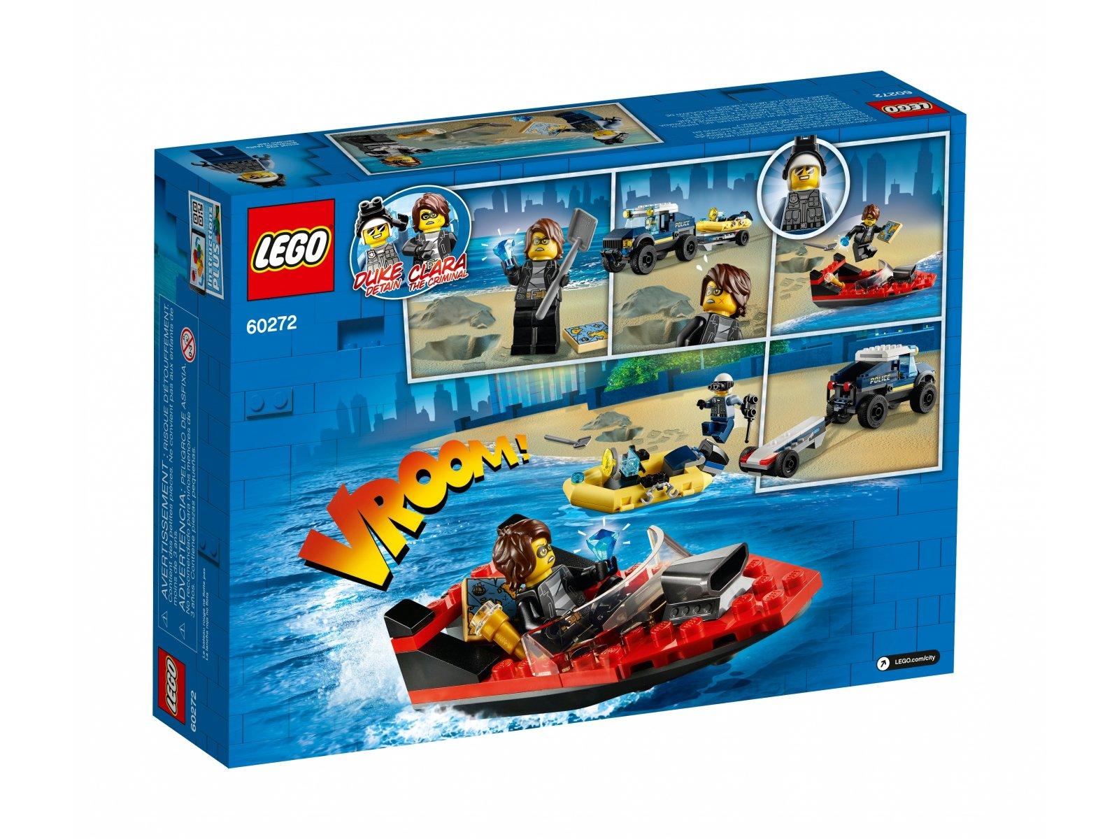 LEGO 60272 Transport łodzi policji specjalnej