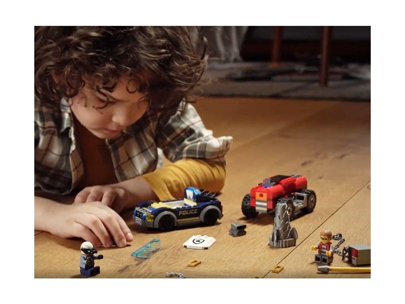 LEGO 60273 Policyjny pościg za wiertnicą