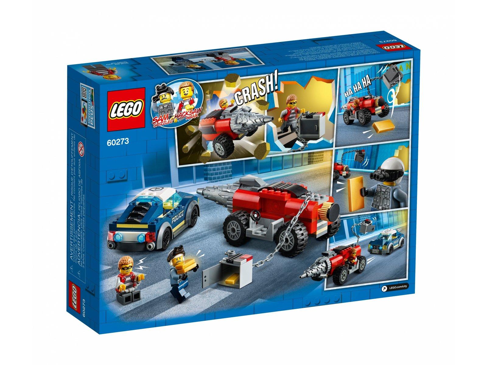 LEGO City 60273 Policyjny pościg za wiertnicą