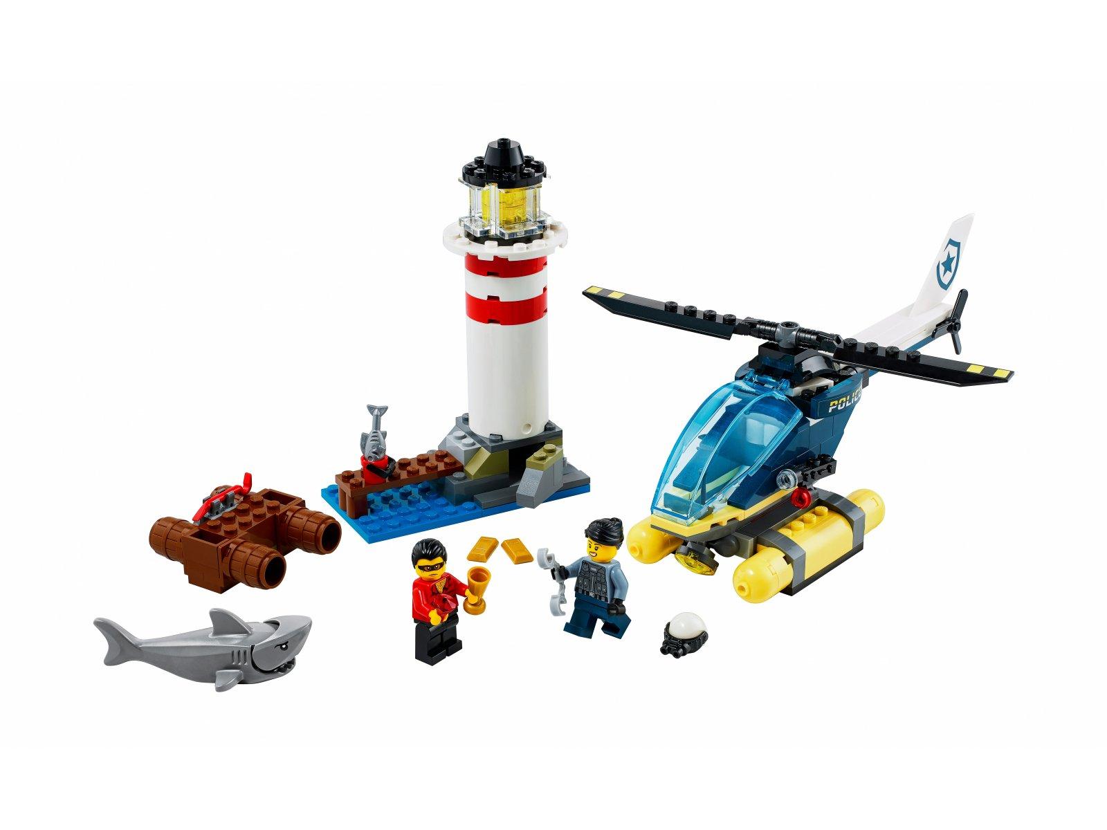 LEGO 60274 City Policja specjalna i zatrzymanie w latarni morskiej