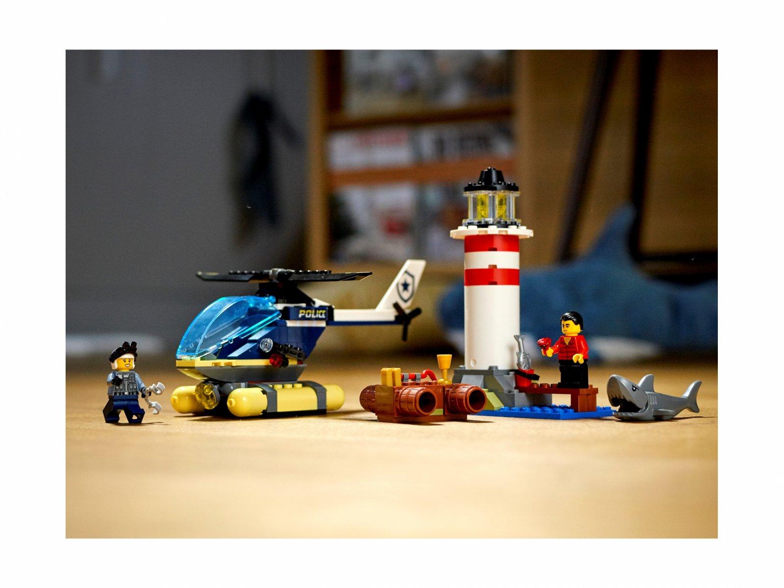 LEGO City Policja specjalna i zatrzymanie w latarni morskiej 60274